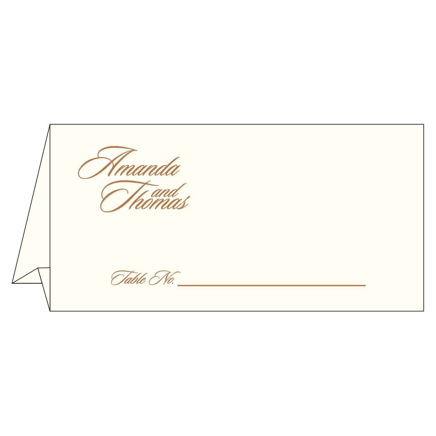 Place Cards : TC-8237J - 123WeddingCards