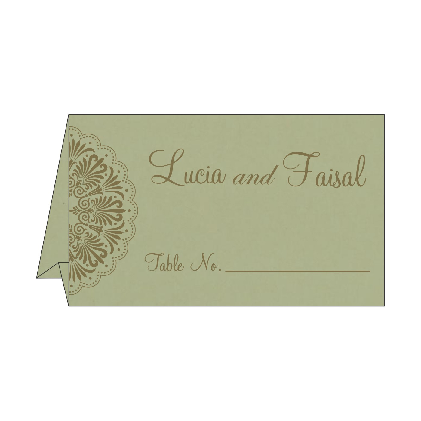 Place Cards : TC-8238K - 123WeddingCards