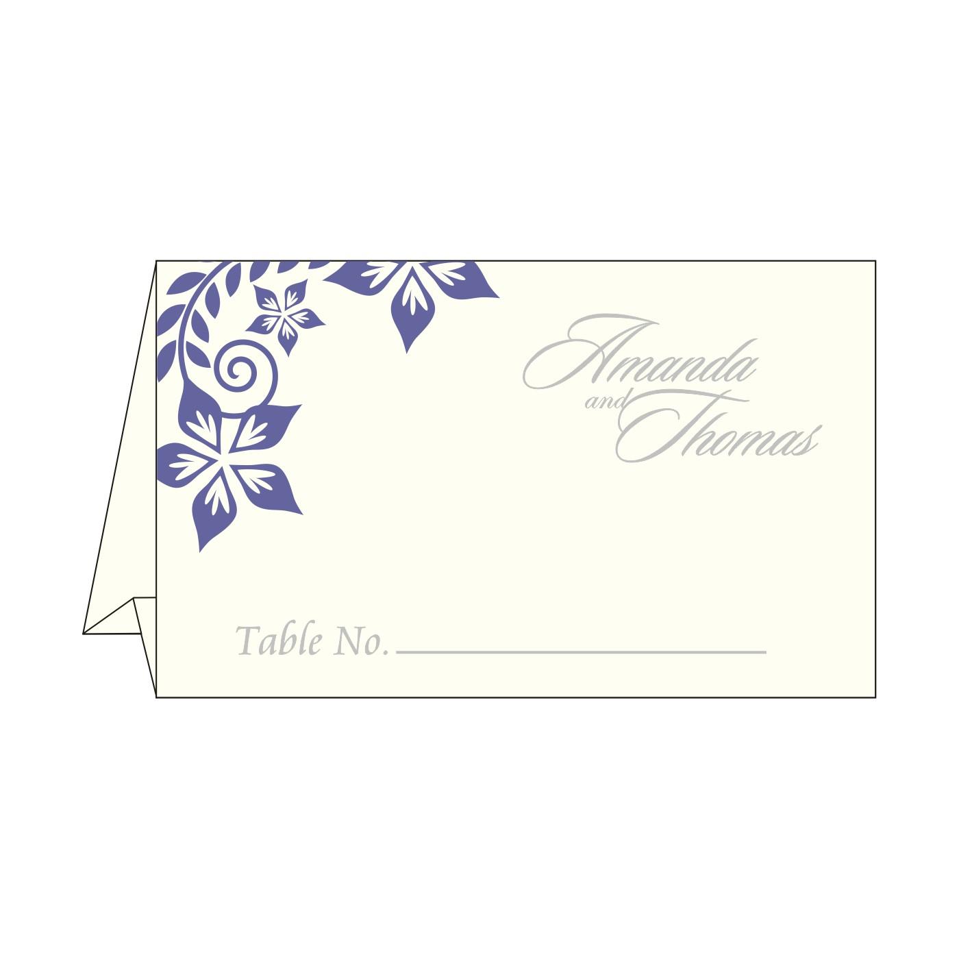 Place Cards : TC-8240B - 123WeddingCards