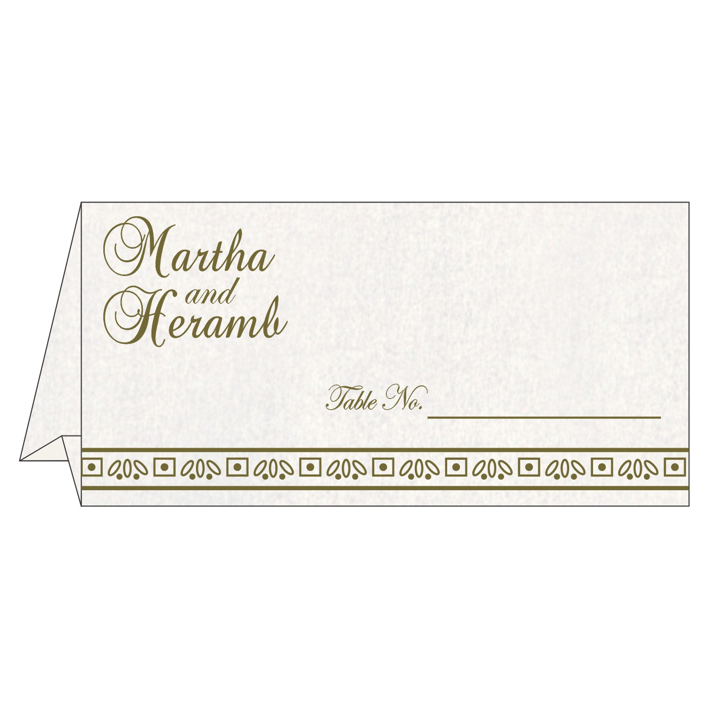 Place Cards : TC-8241L - 123WeddingCards