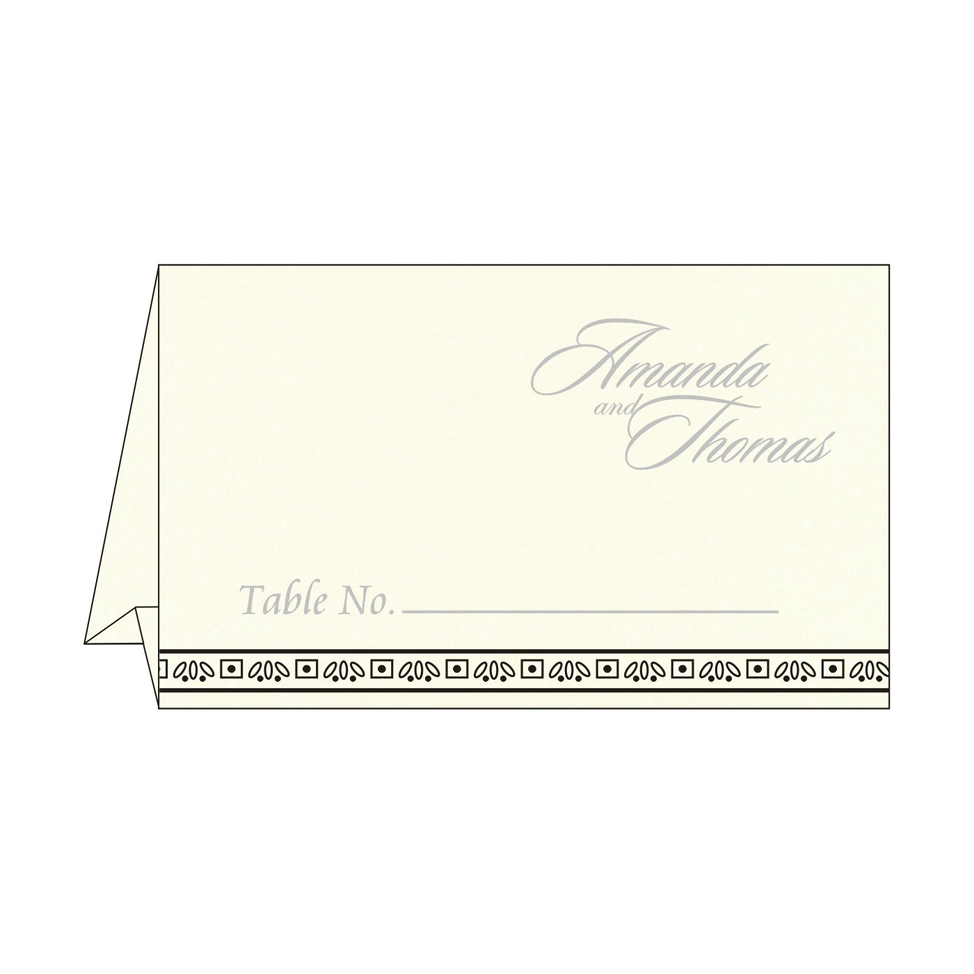 Place Cards : TC-8242B - 123WeddingCards