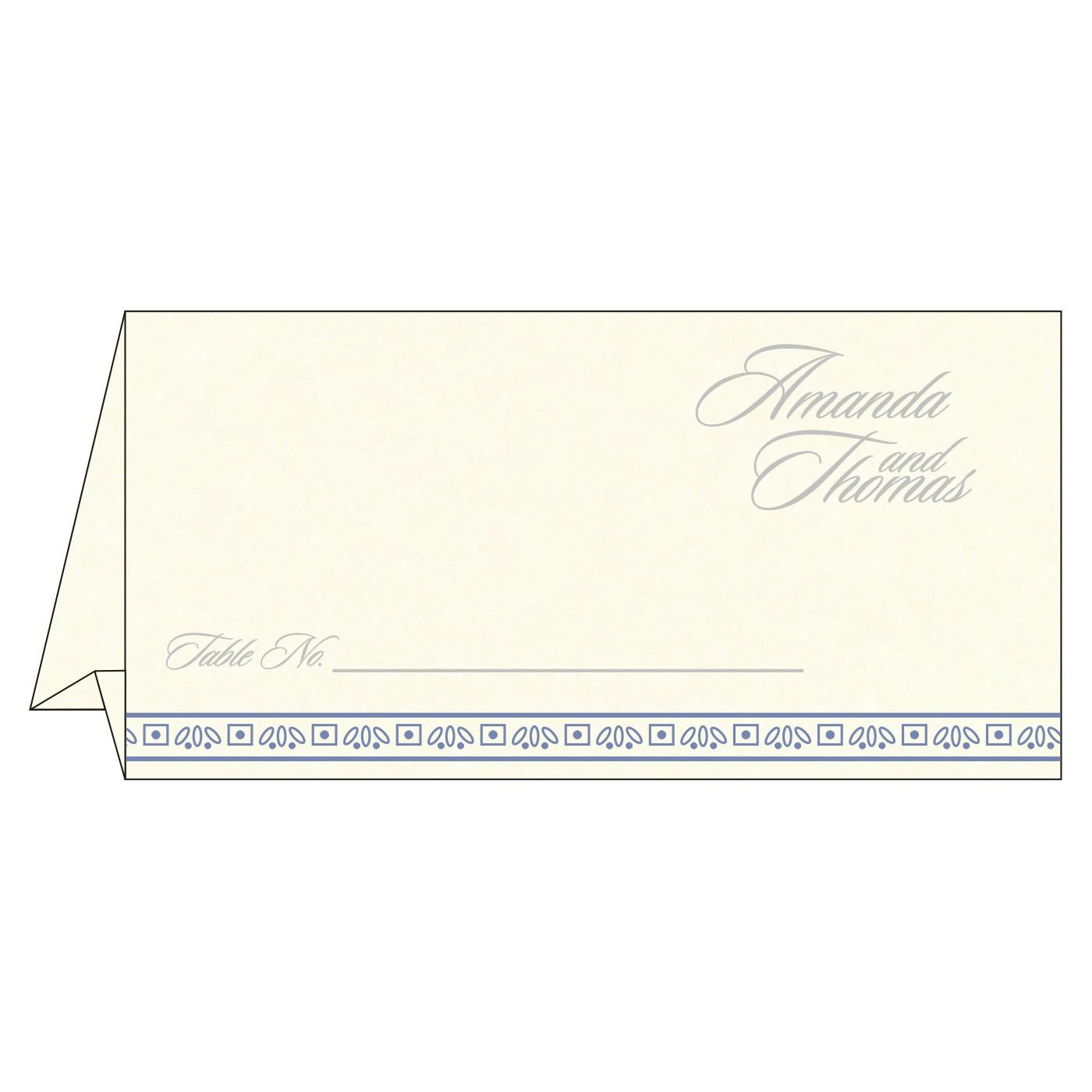 Place Cards : TC-8242J - 123WeddingCards