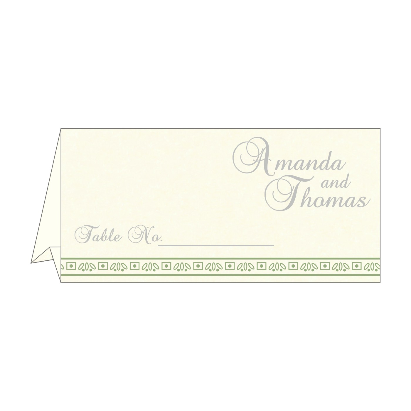Place Cards : TC-8242K - 123WeddingCards