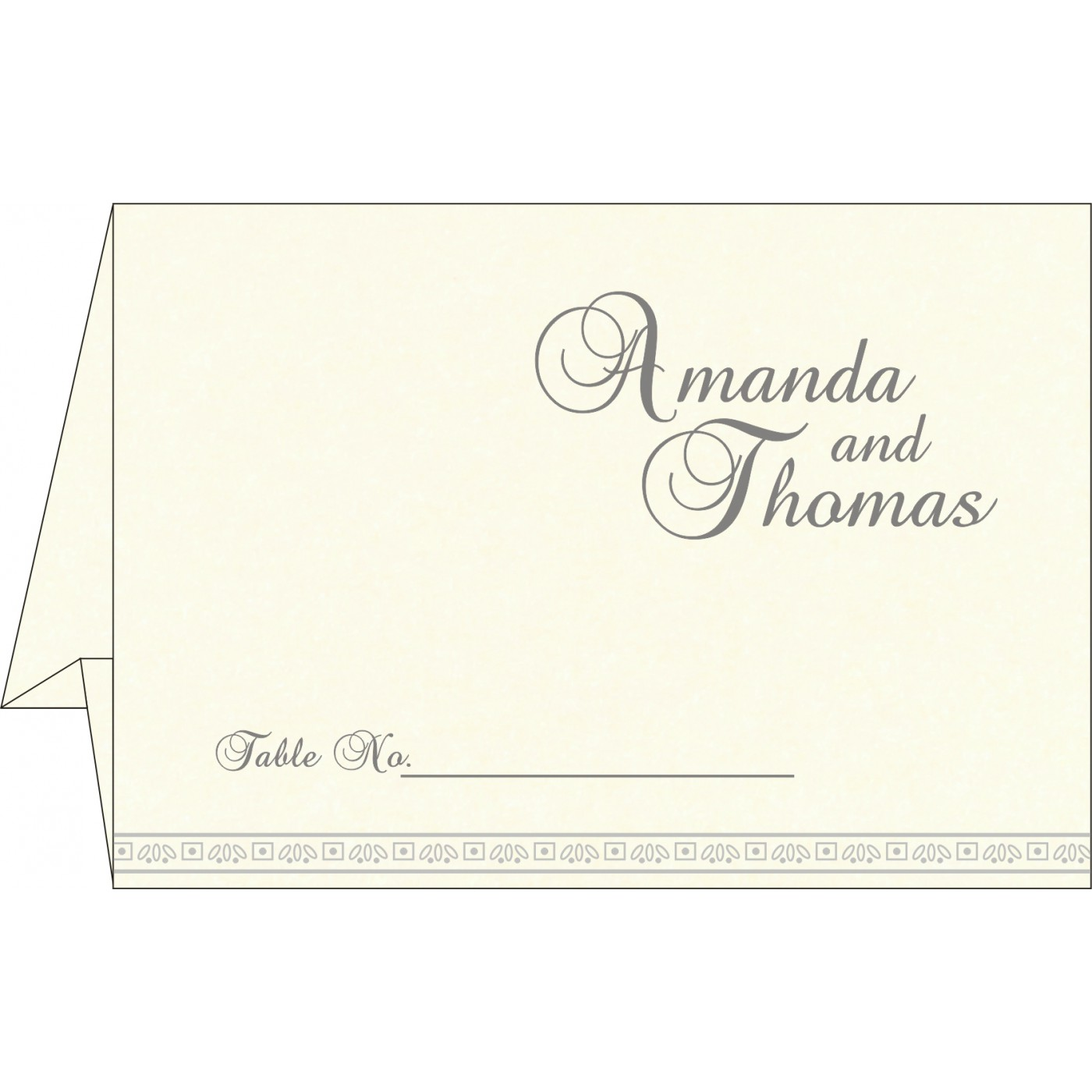 Place Cards : TC-8242P - 123WeddingCards