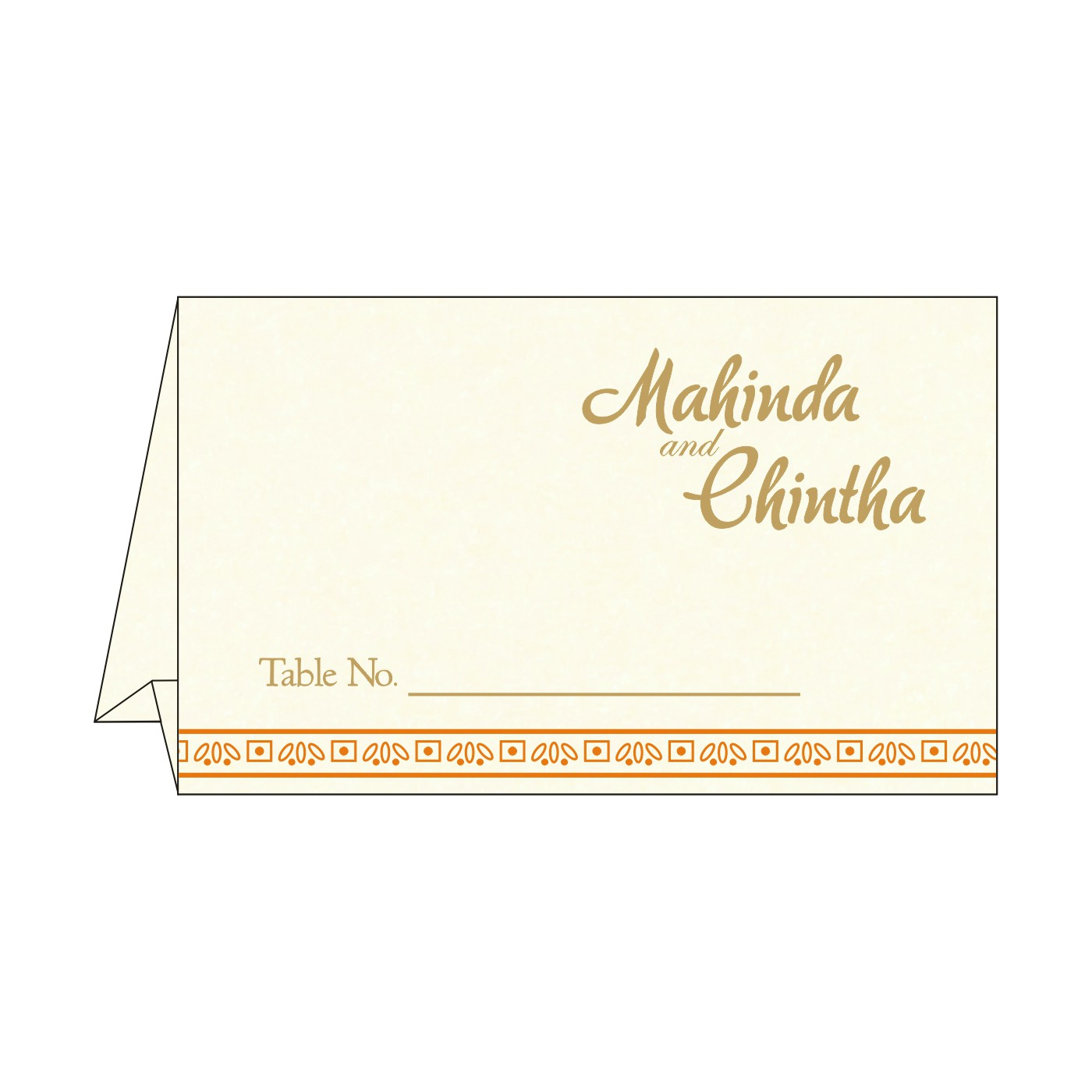Place Cards : TC-8242Q - 123WeddingCards