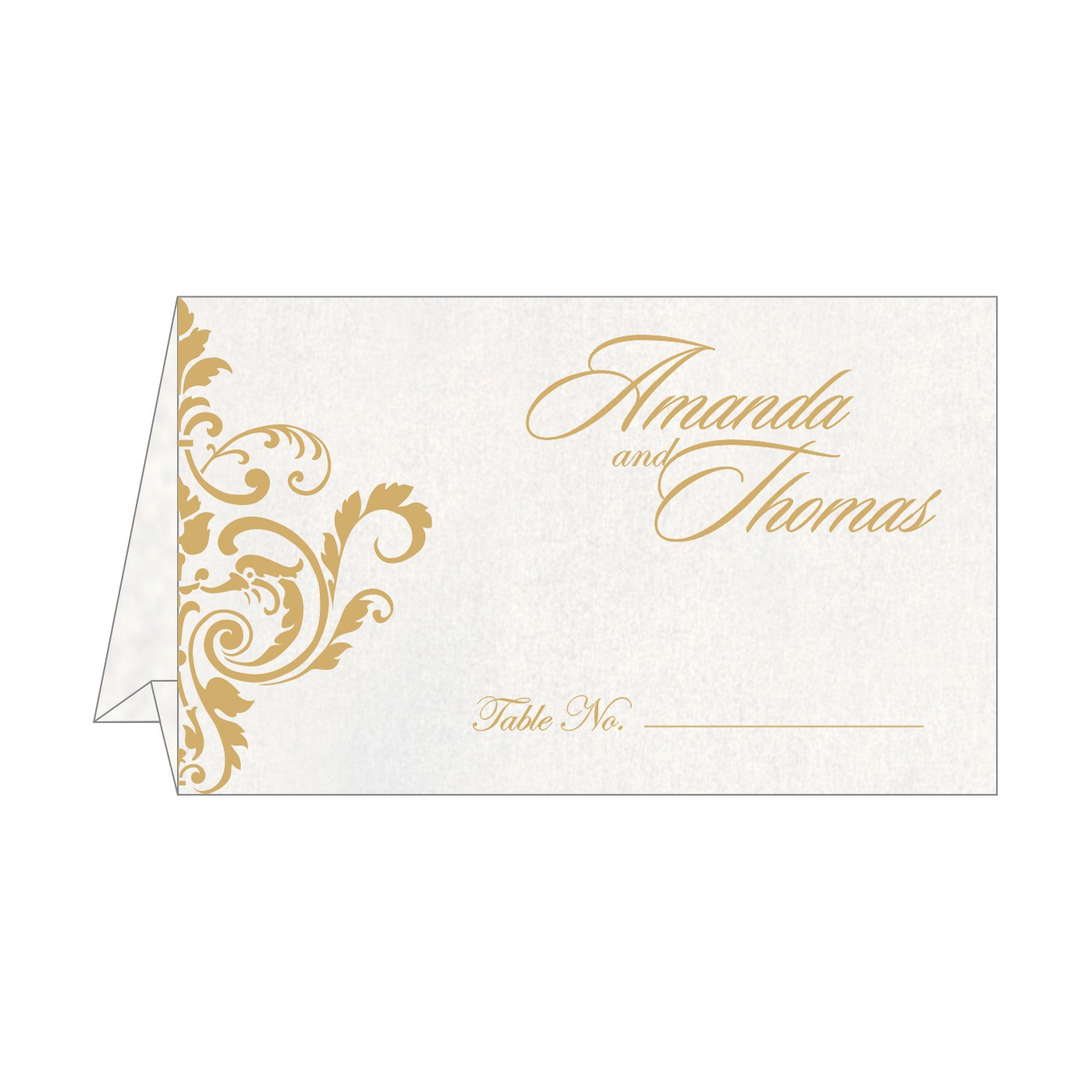 Place Cards : TC-8244B - 123WeddingCards