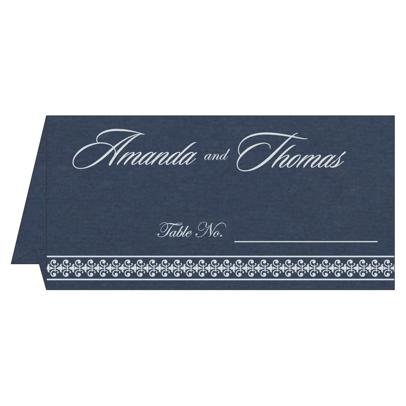 Place Cards : TC-8247G - 123WeddingCards