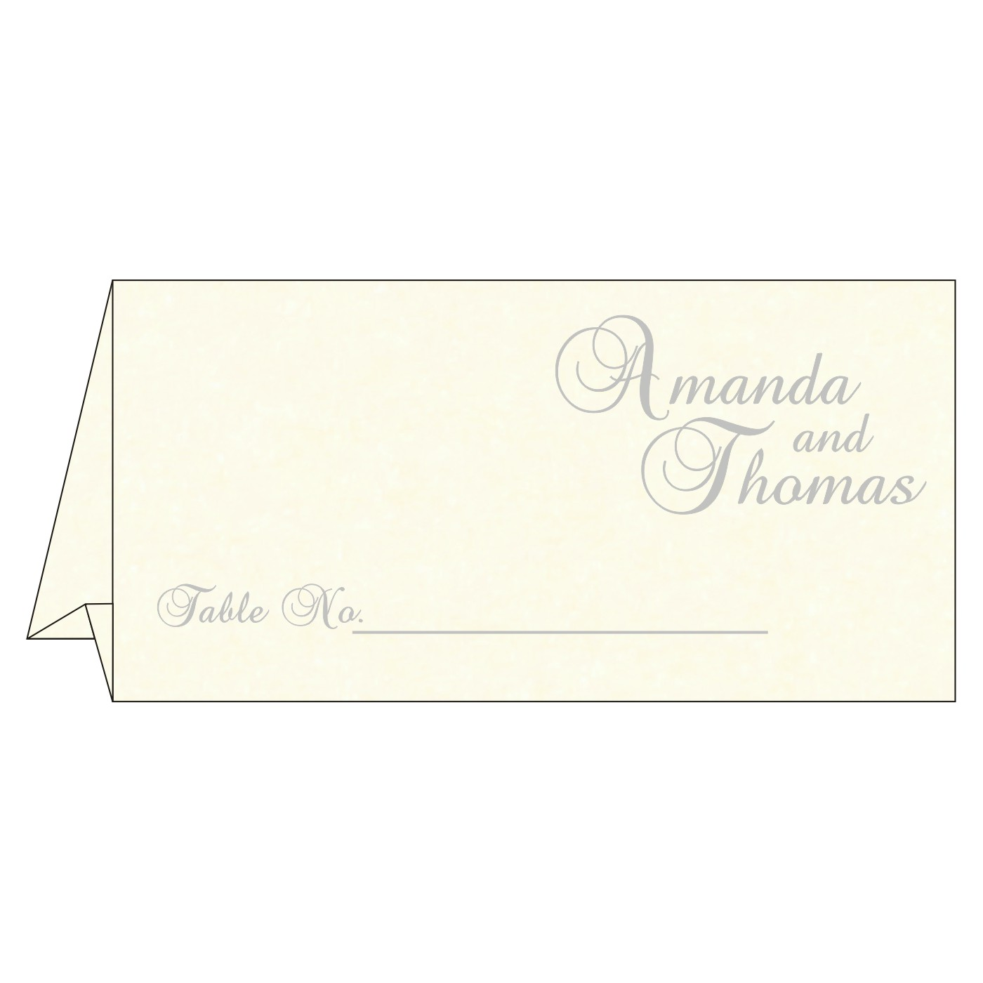 Place Cards : TC-8249D - 123WeddingCards