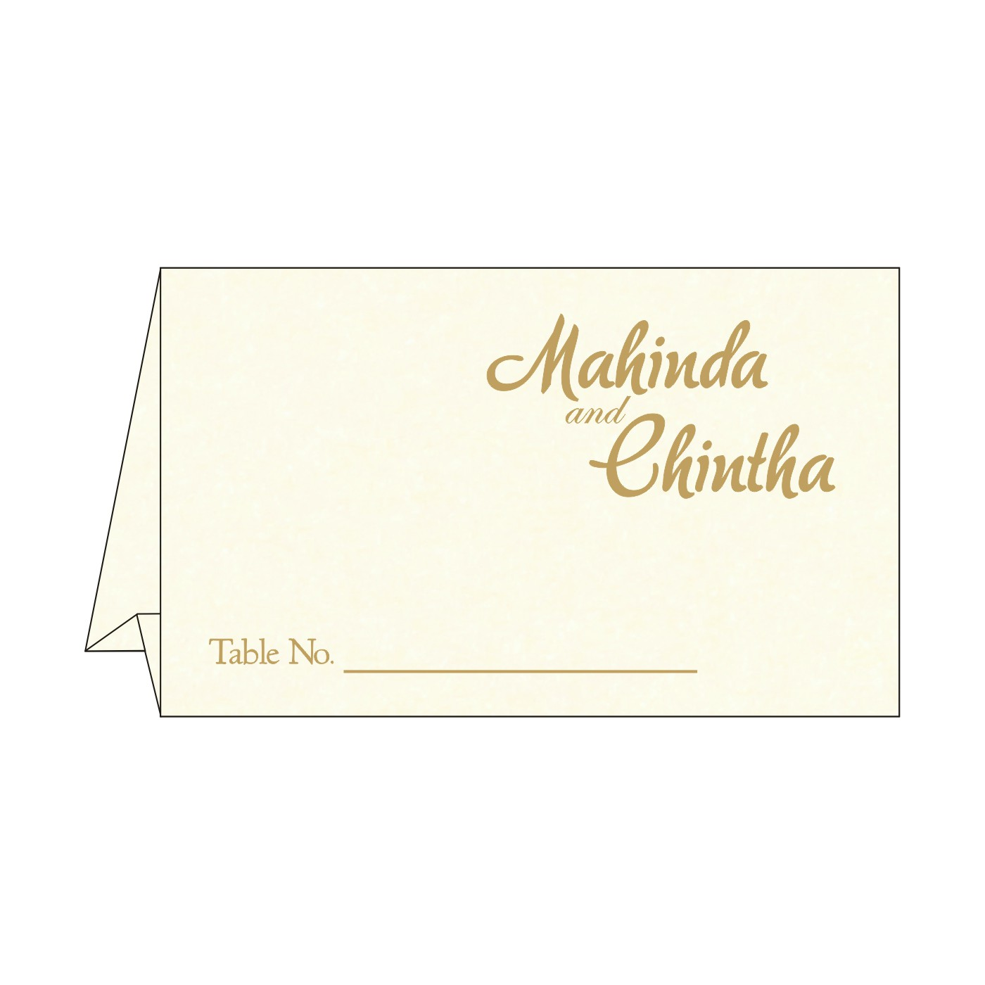 Place Cards : TC-8249K - 123WeddingCards