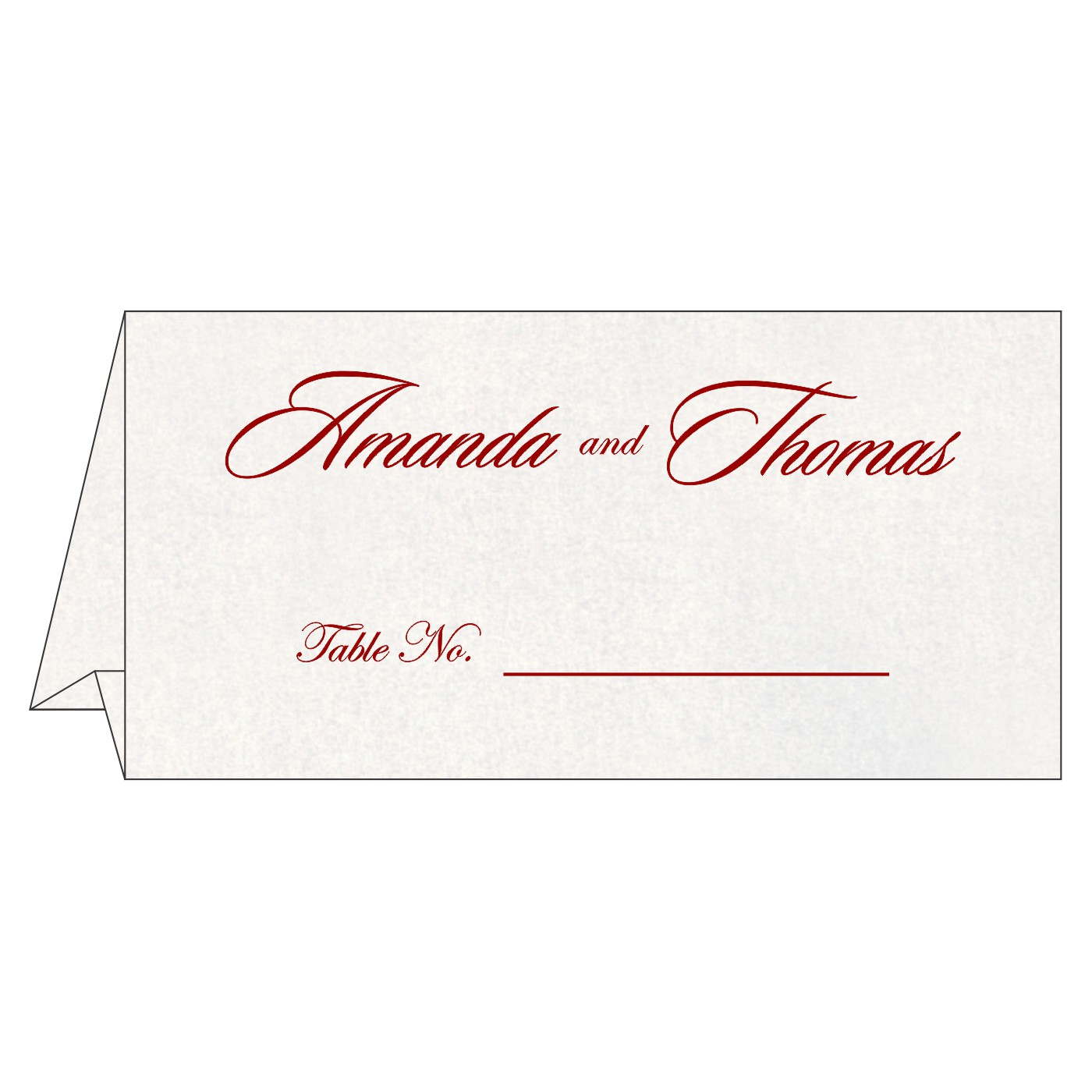 Place Cards : TC-8251H - 123WeddingCards