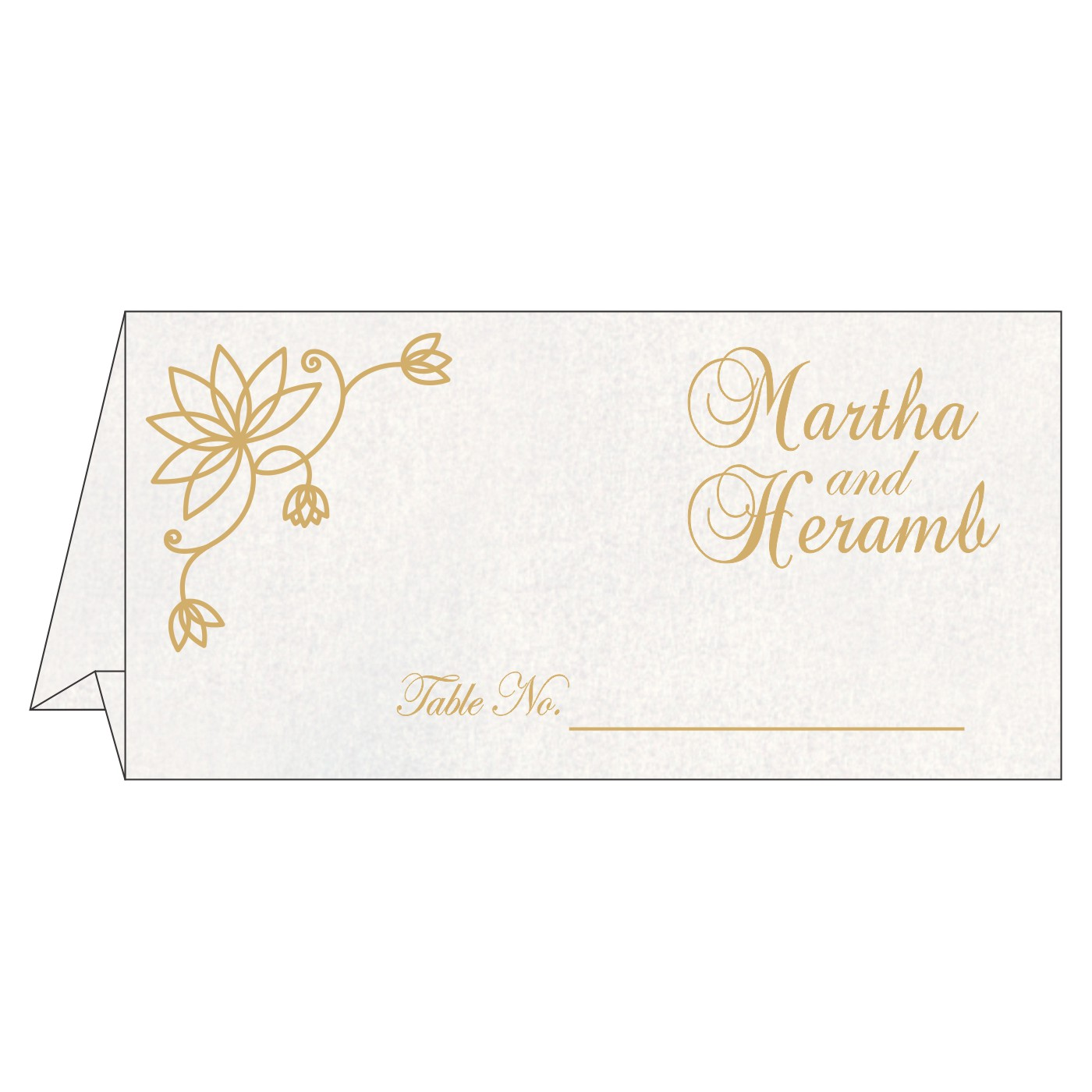 Place Cards : TC-8251K - 123WeddingCards
