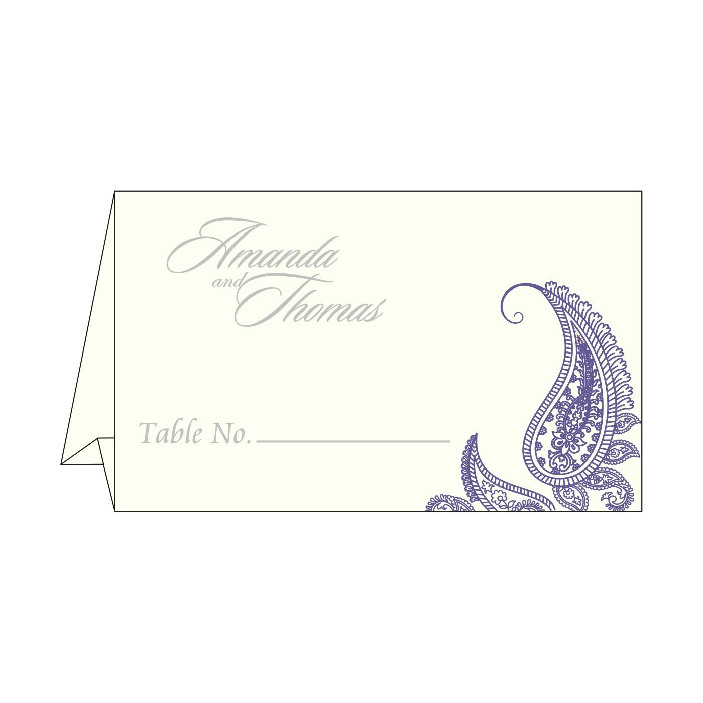Place Cards : TC-8252B - 123WeddingCards