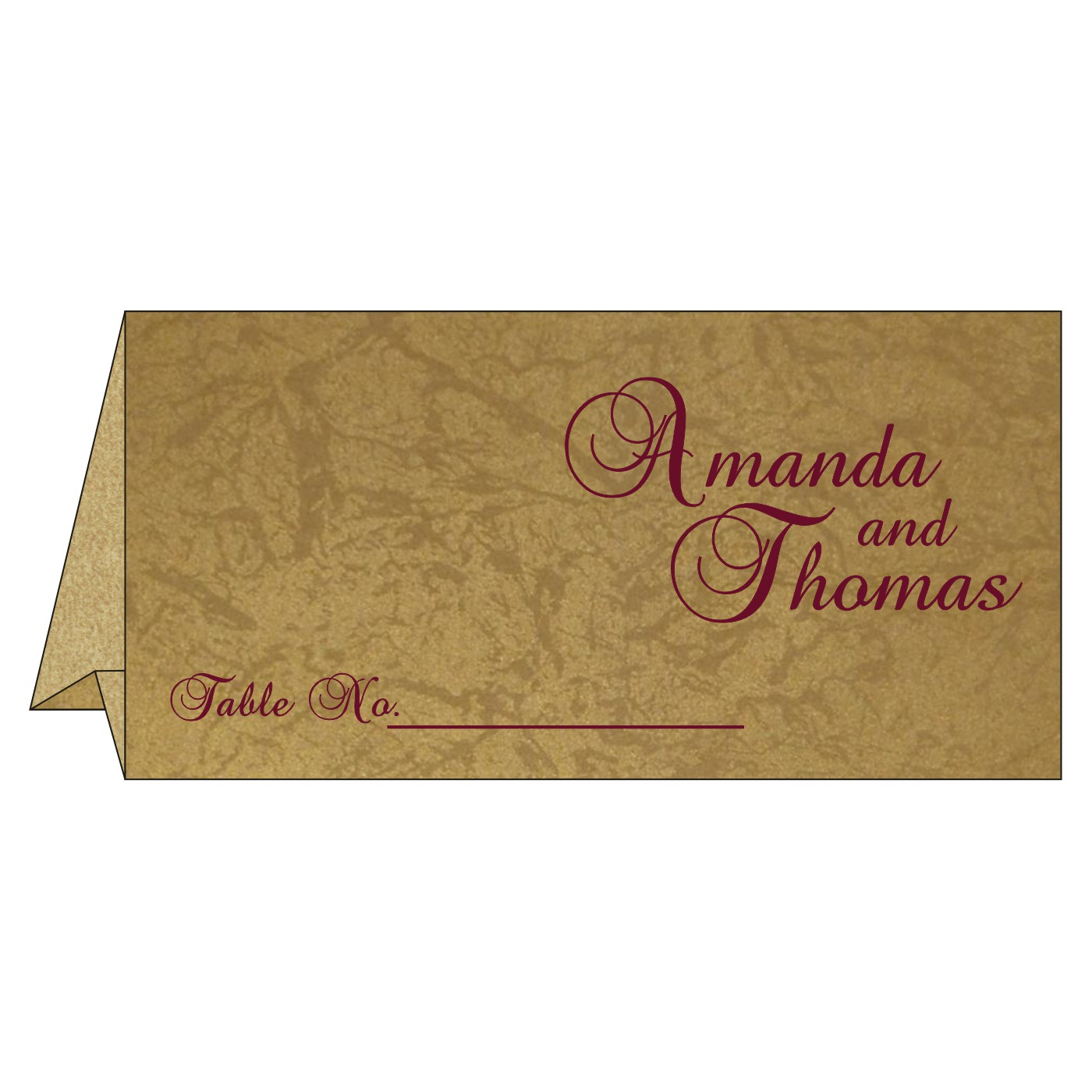Place Cards : TC-8253C - 123WeddingCards