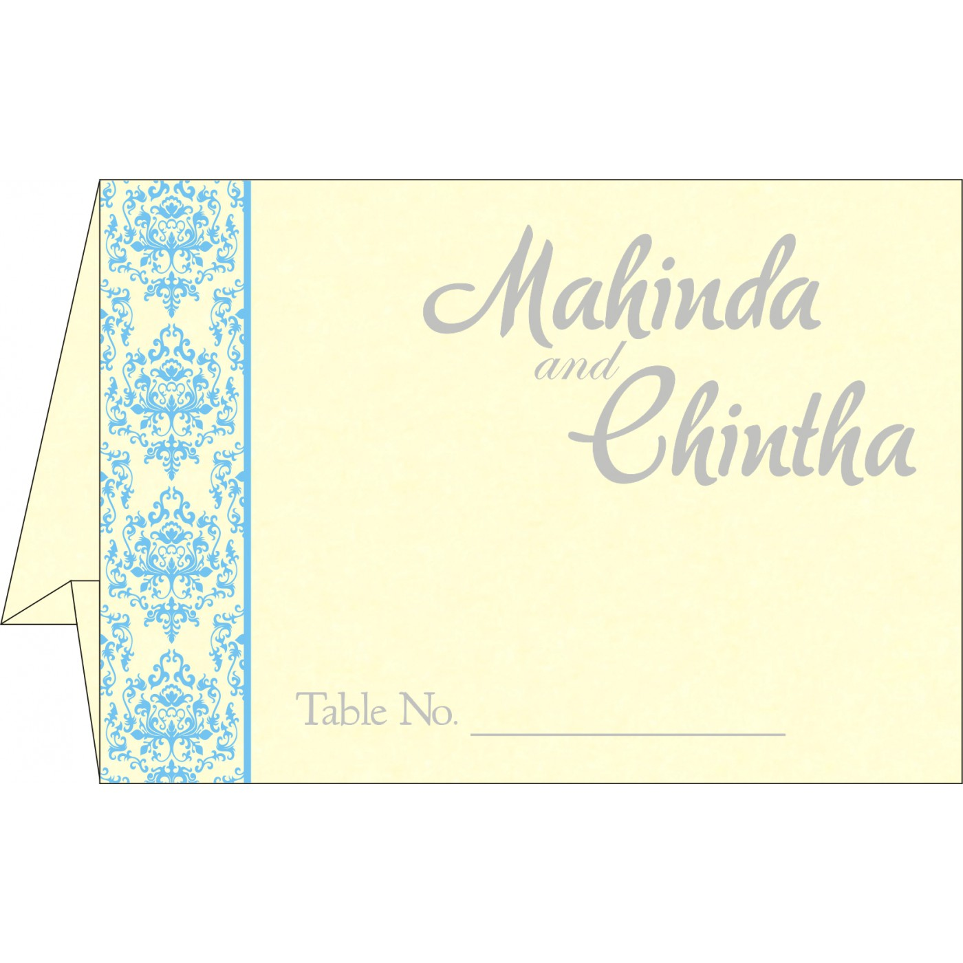 Place Cards : TC-8253E - 123WeddingCards