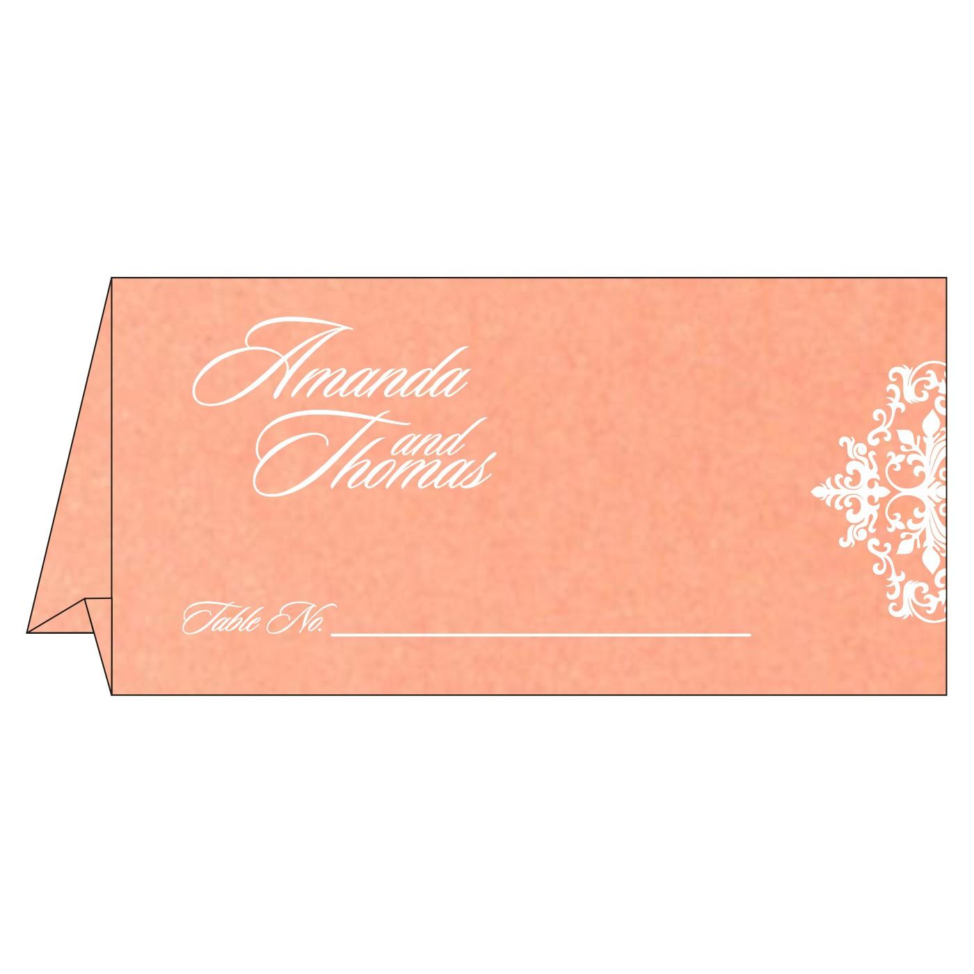 Place Cards : TC-8254G - 123WeddingCards