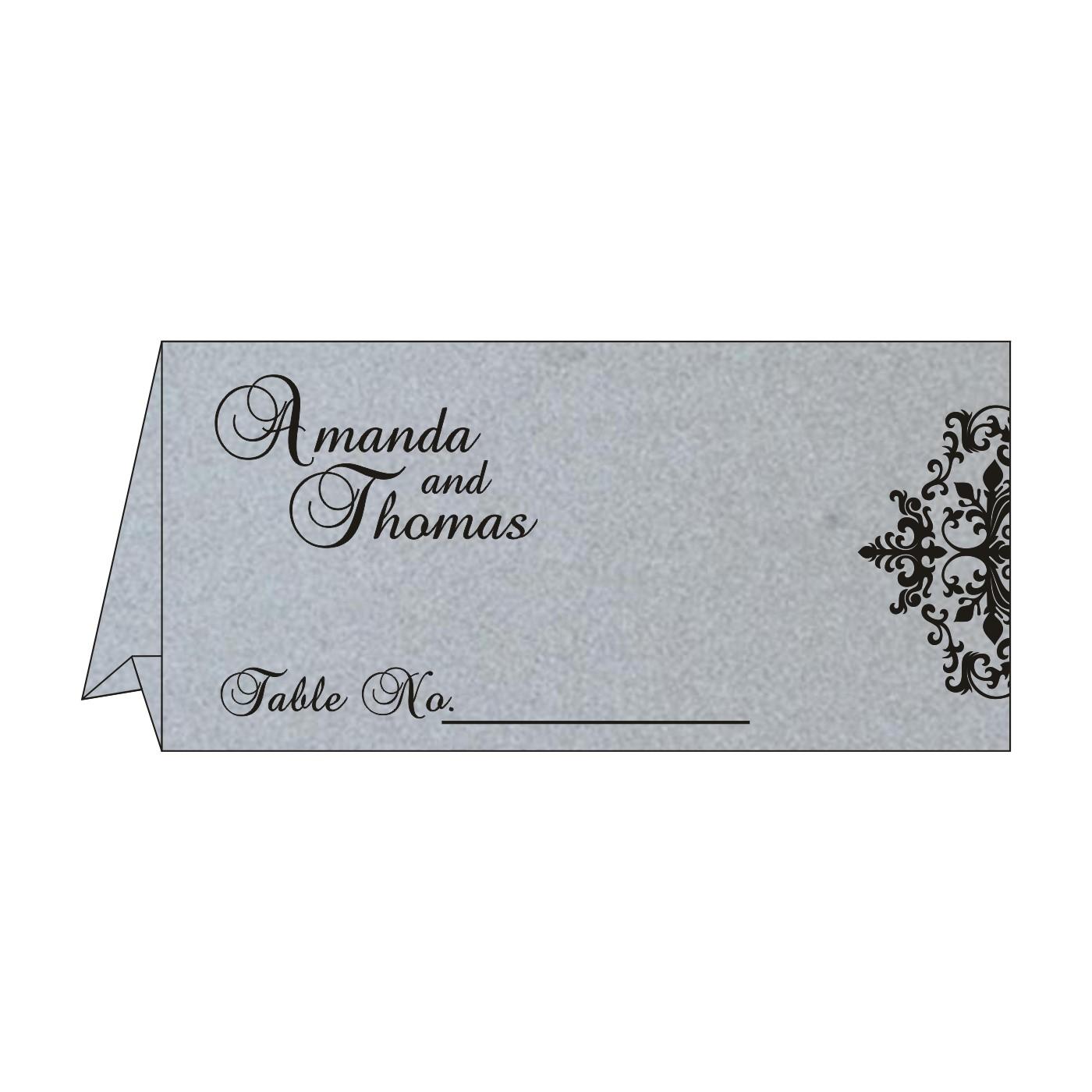 Place Cards : TC-8254H - 123WeddingCards