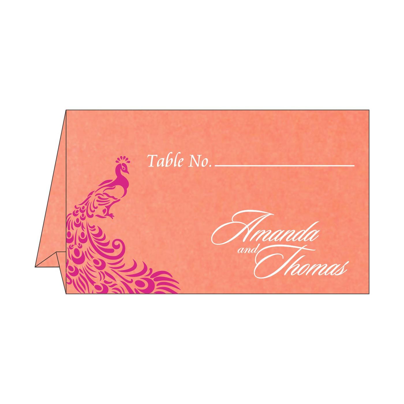 Place Cards : TC-8255B - 123WeddingCards