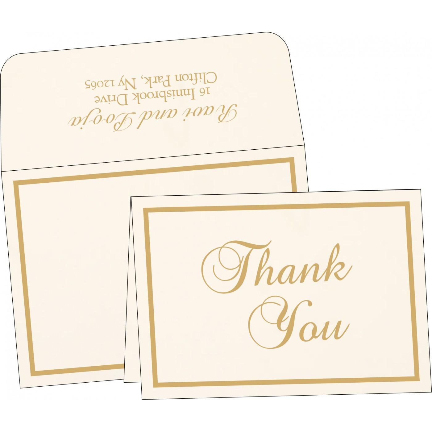 Thank You Cards : TYC-1144 - 123WeddingCards