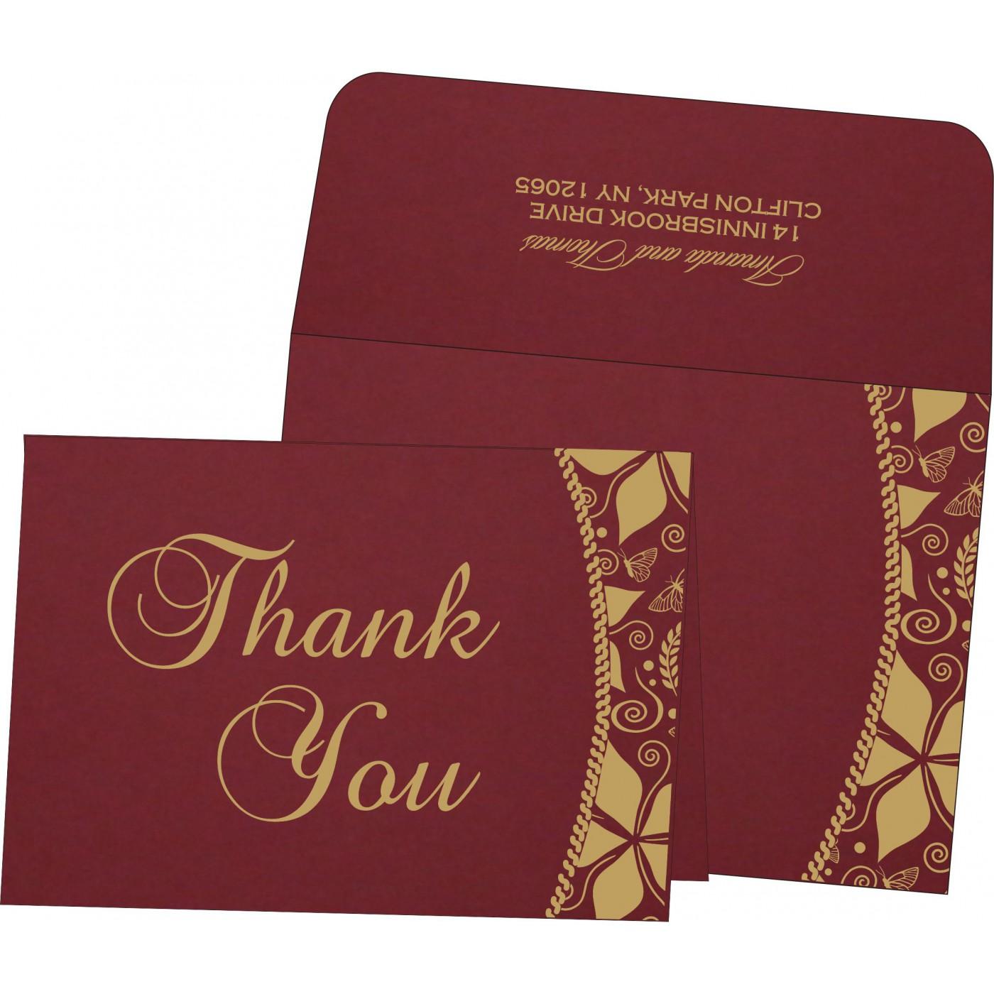 Thank You Cards : TYC-1169 - 123WeddingCards