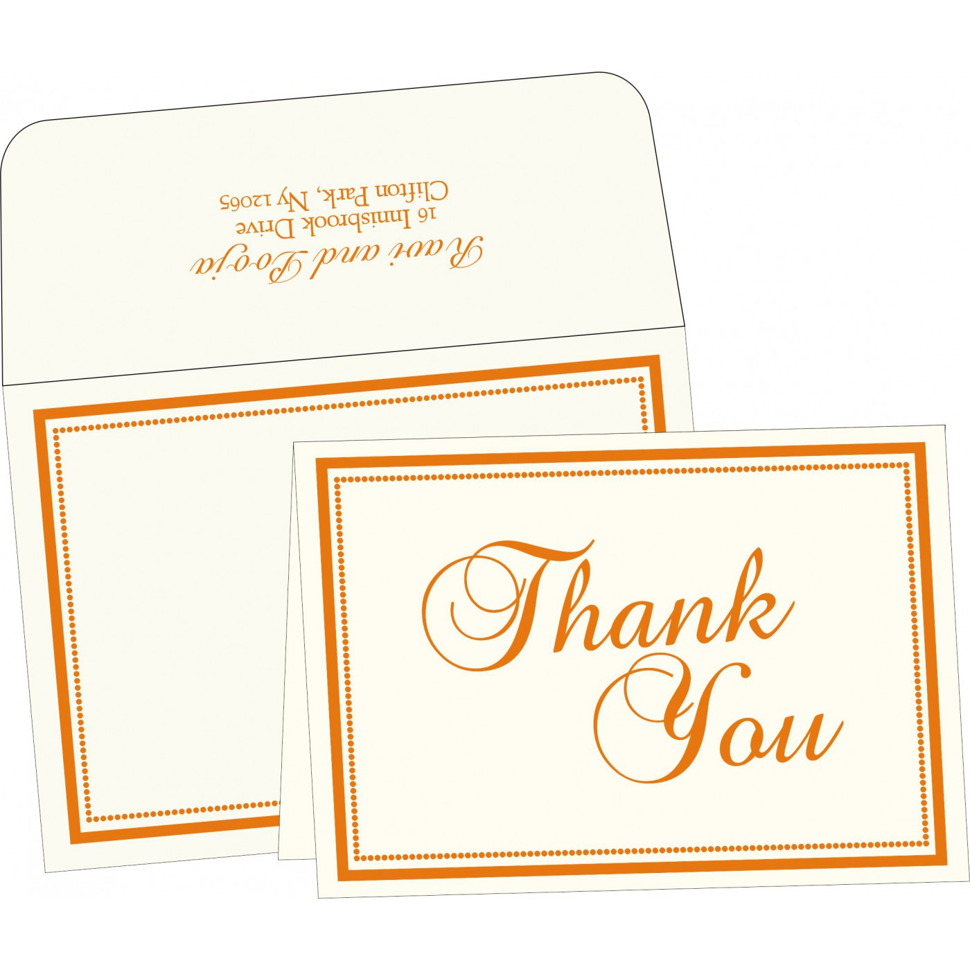 Thank You Cards : TYC-1183 - 123WeddingCards