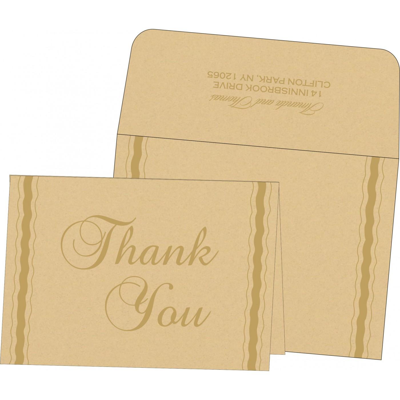 Thank You Cards : TYC-1187 - 123WeddingCards