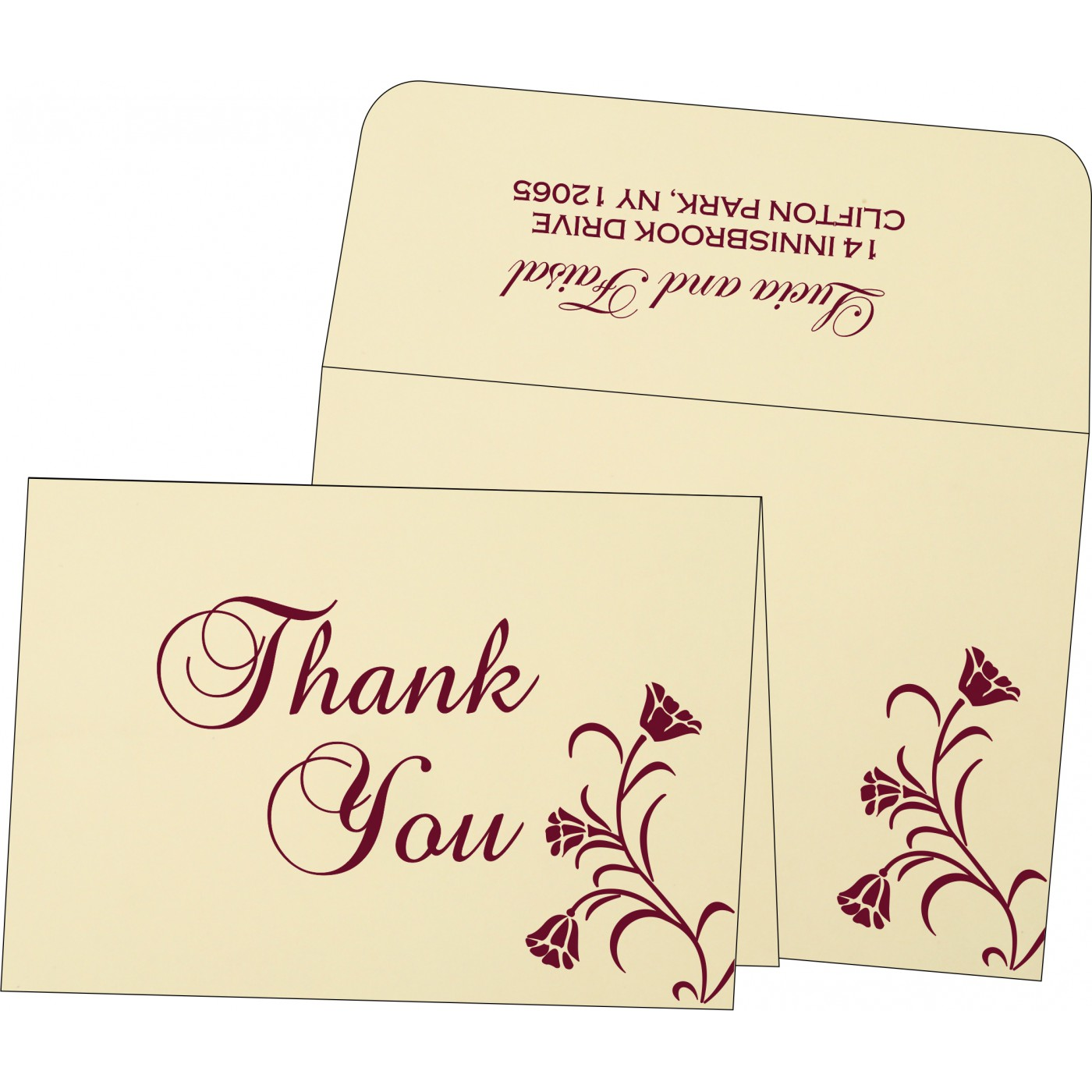 Thank You Cards : TYC-1203 - 123WeddingCards