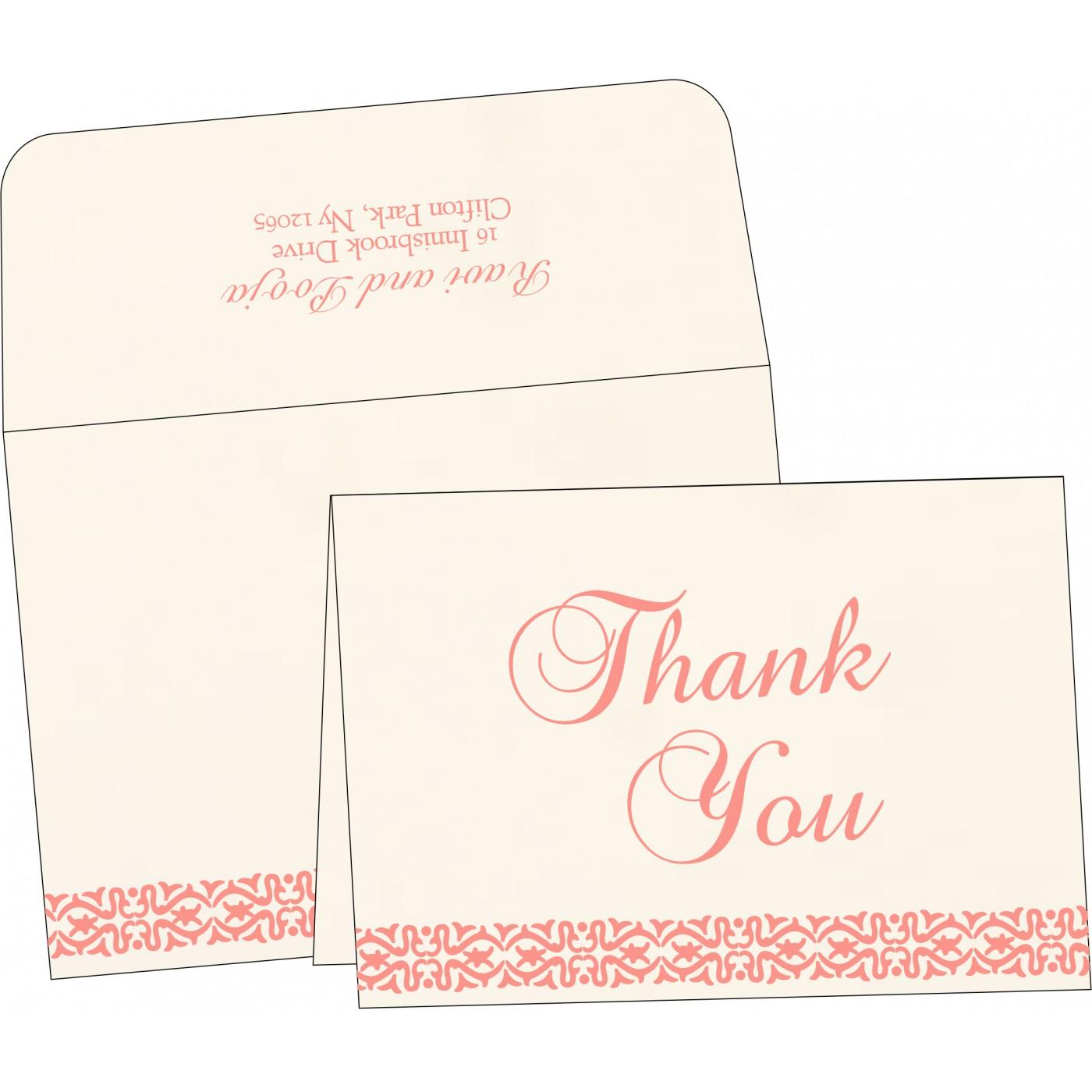 Thank You Cards : TYC-1221 - 123WeddingCards