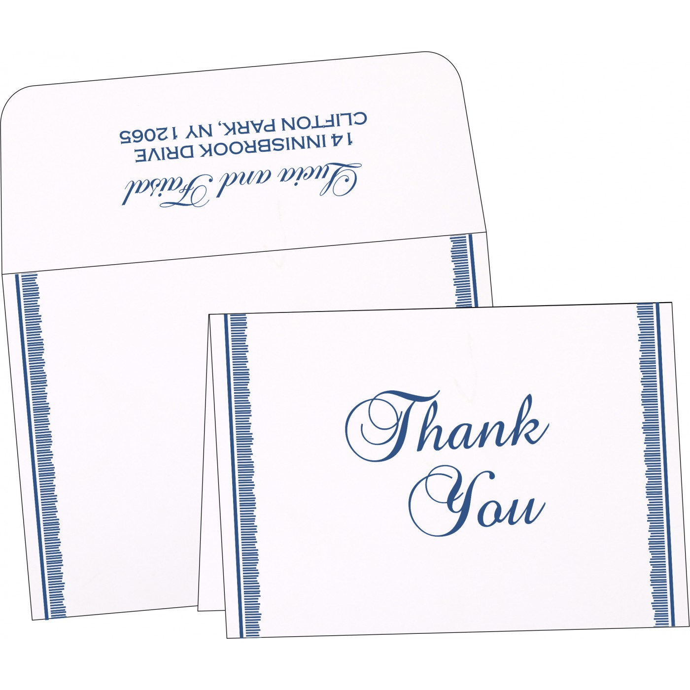 Thank You Cards : TYC-1277 - 123WeddingCards