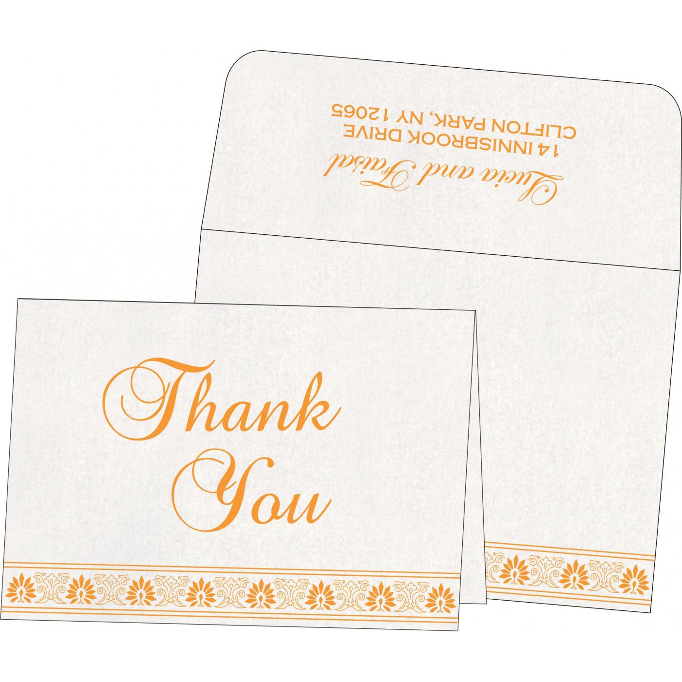 Thank You Cards : TYC-1296 - 123WeddingCards