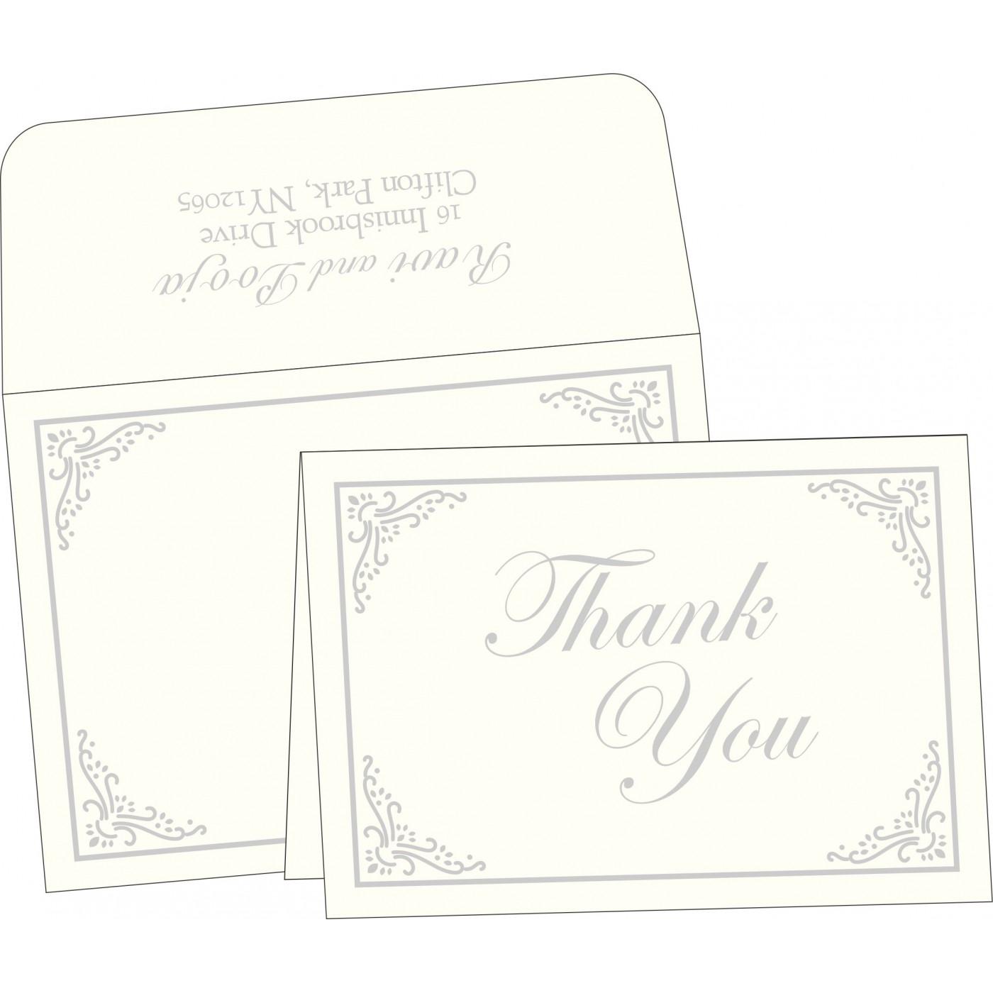 Thank You Cards : TYC-1325 - 123WeddingCards