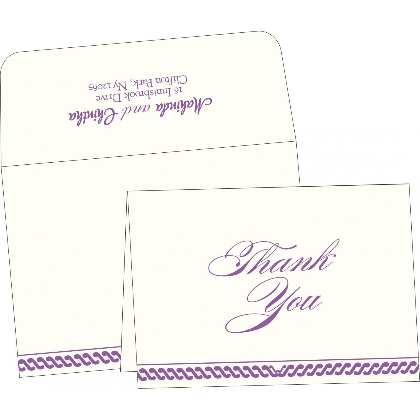 Thank You Cards : TYC-1327 - 123WeddingCards