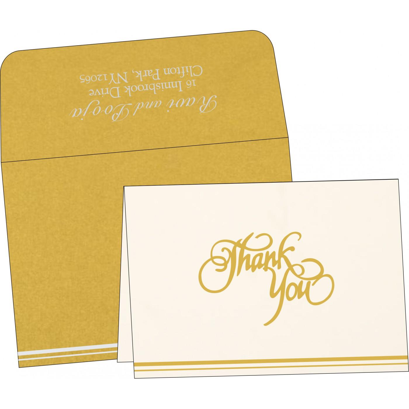Thank You Cards : TYC-1350 - 123WeddingCards