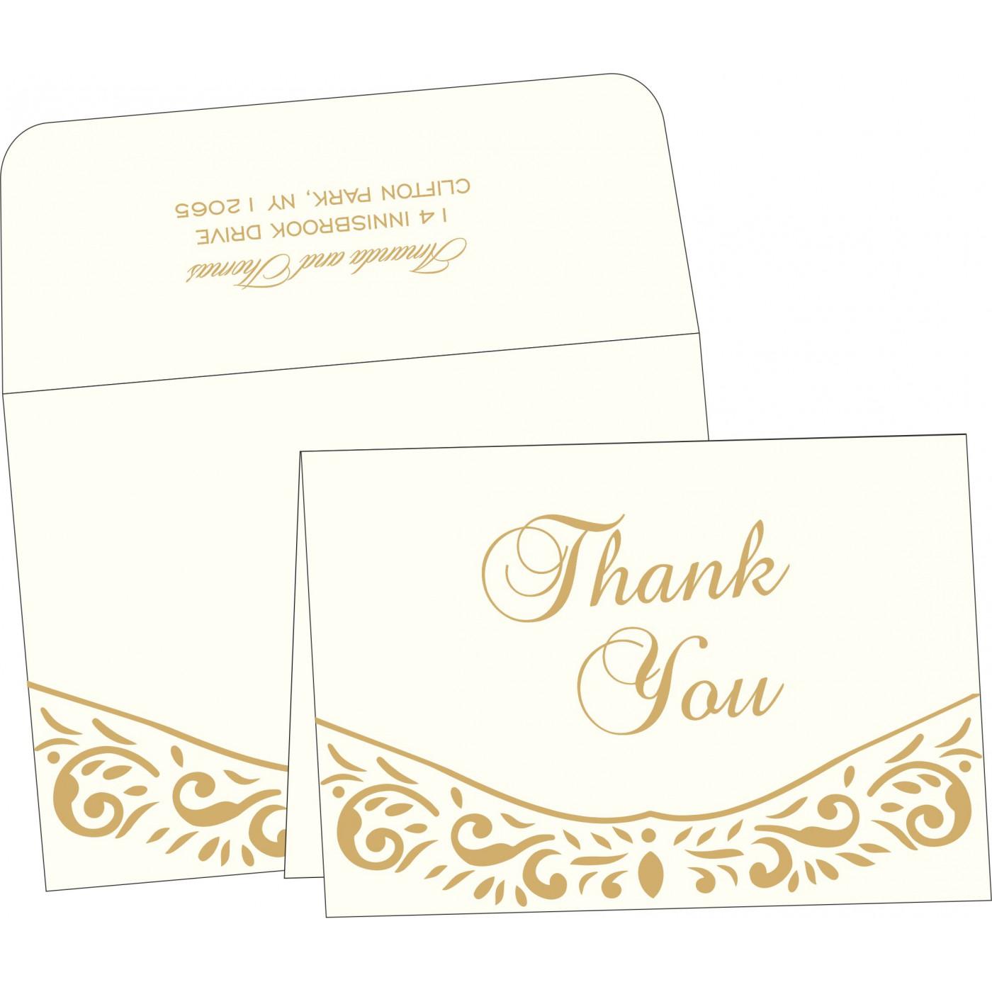 Thank You Cards : TYC-1367 - 123WeddingCards