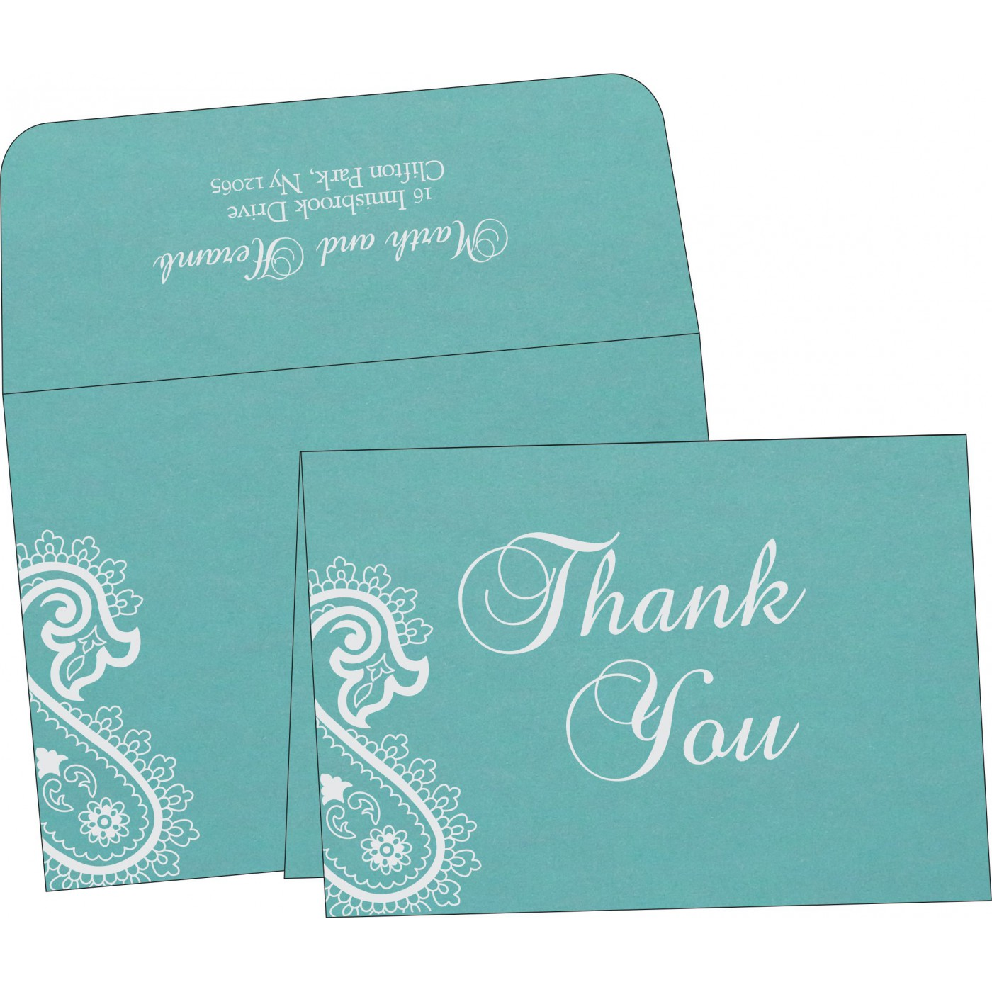 Thank You Cards : TYC-1382 - 123WeddingCards