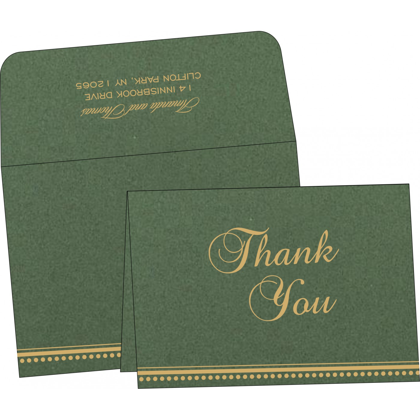 Thank You Cards : TYC-1388 - 123WeddingCards