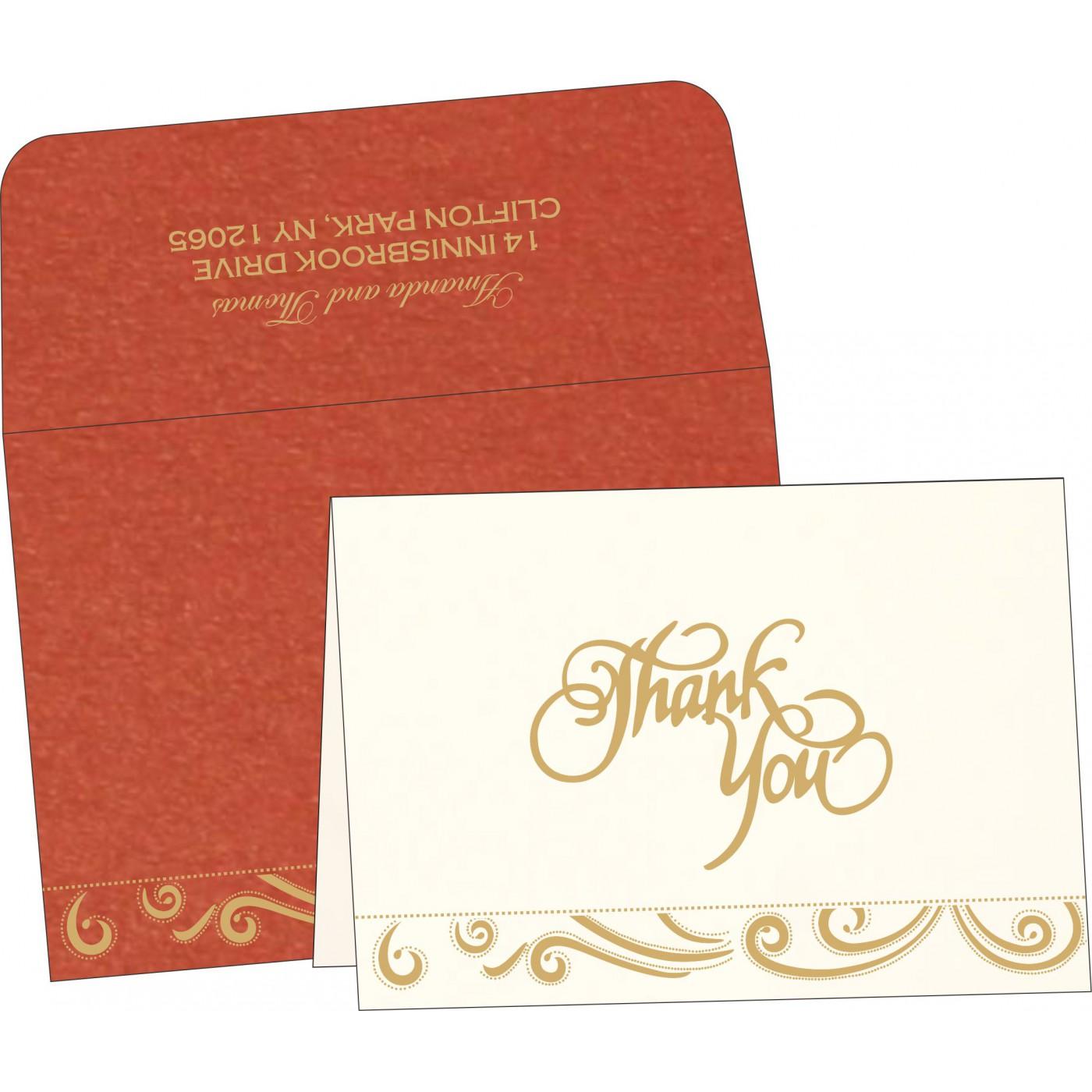 Thank You Cards : TYC-1389 - 123WeddingCards