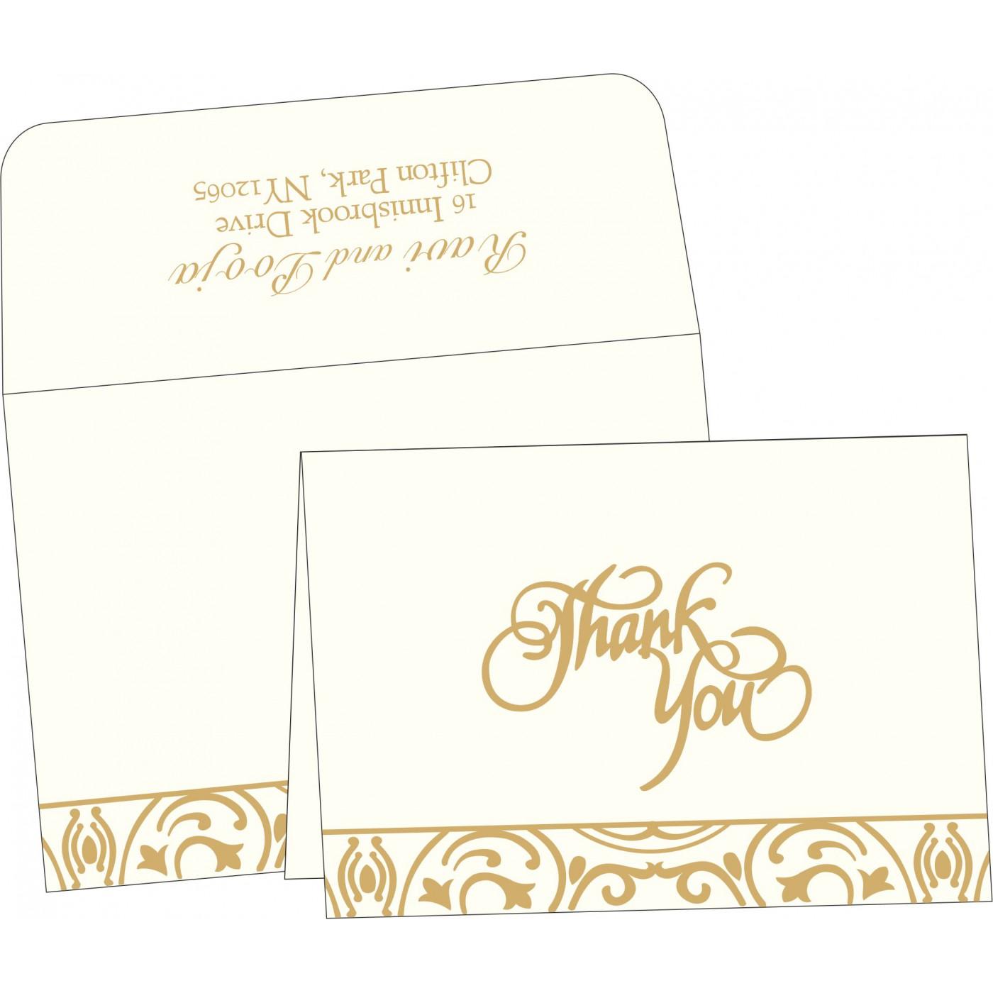 Thank You Cards : TYC-1394 - 123WeddingCards