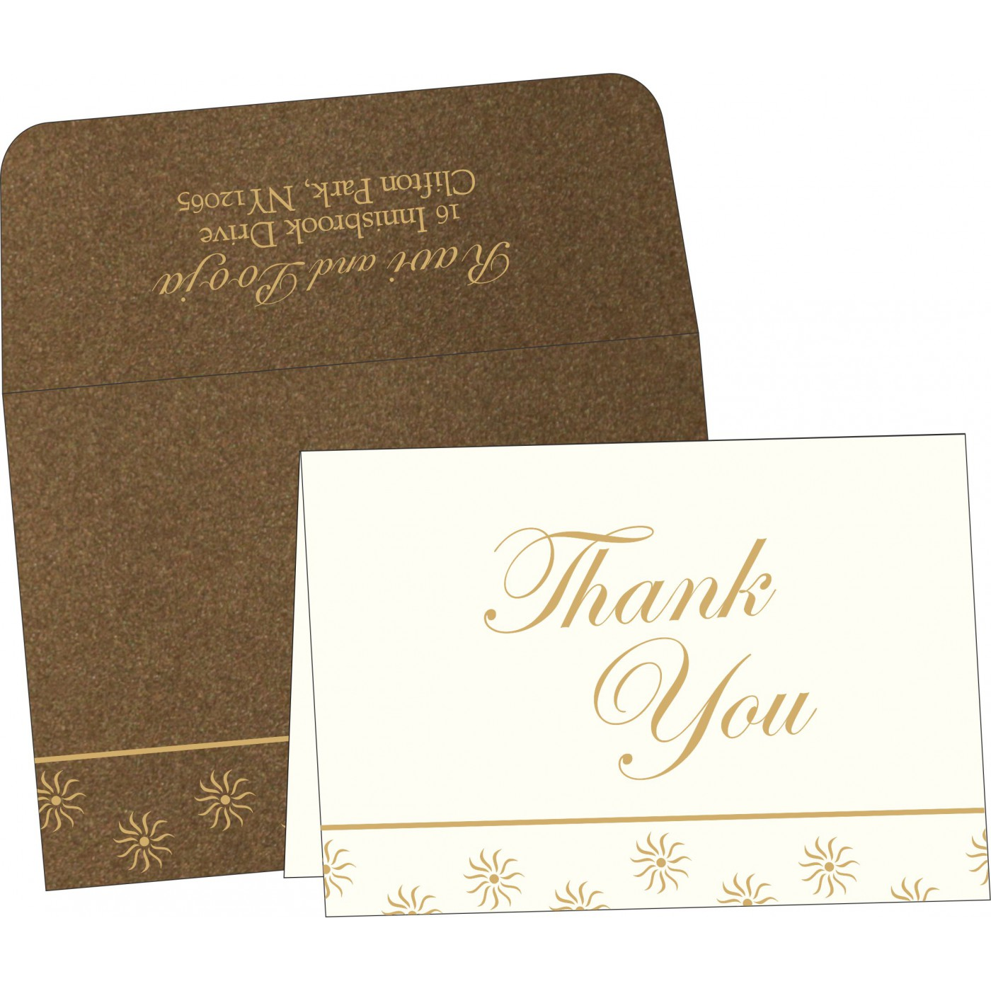 Thank You Cards : TYC-1405 - 123WeddingCards