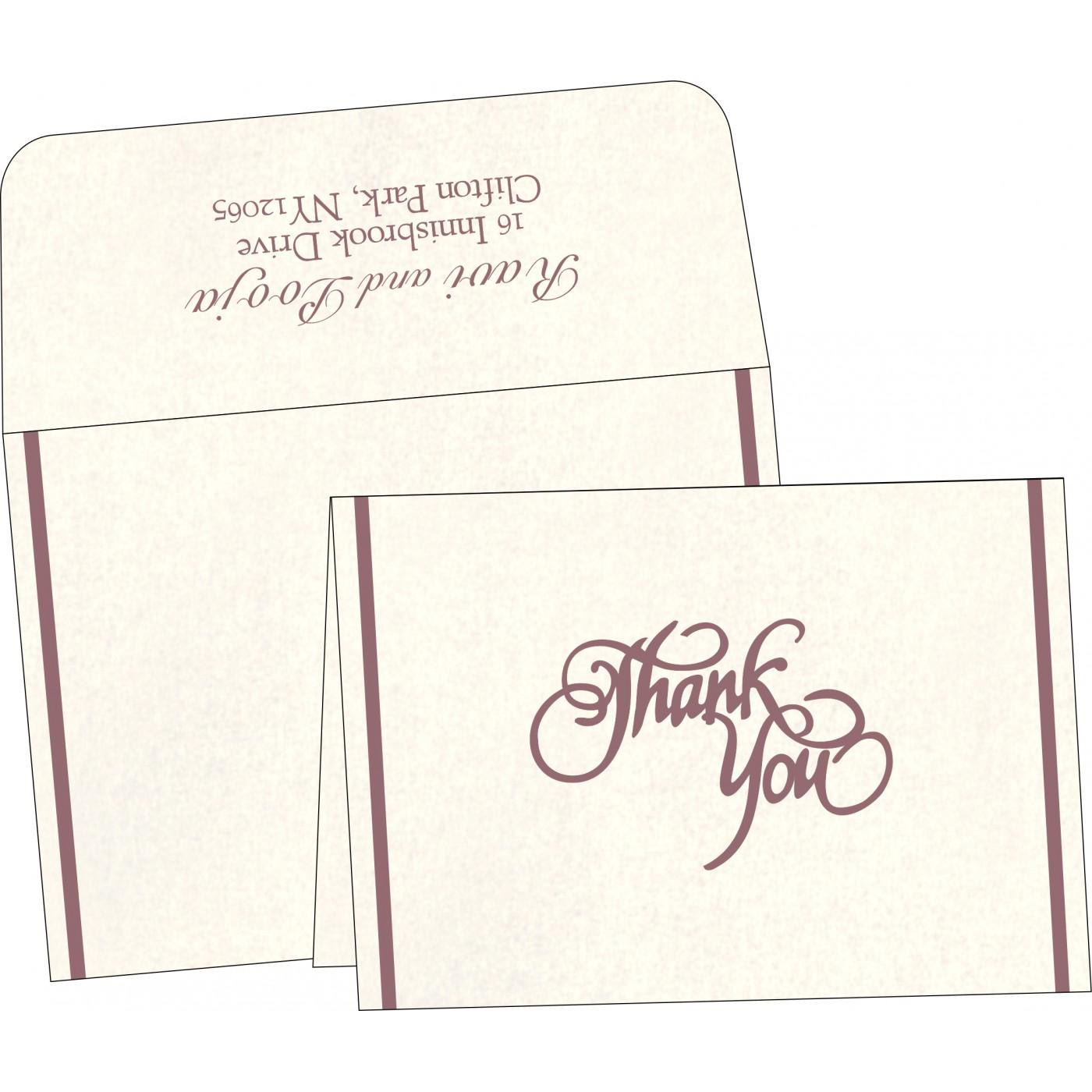 Thank You Cards : TYC-1413 - 123WeddingCards
