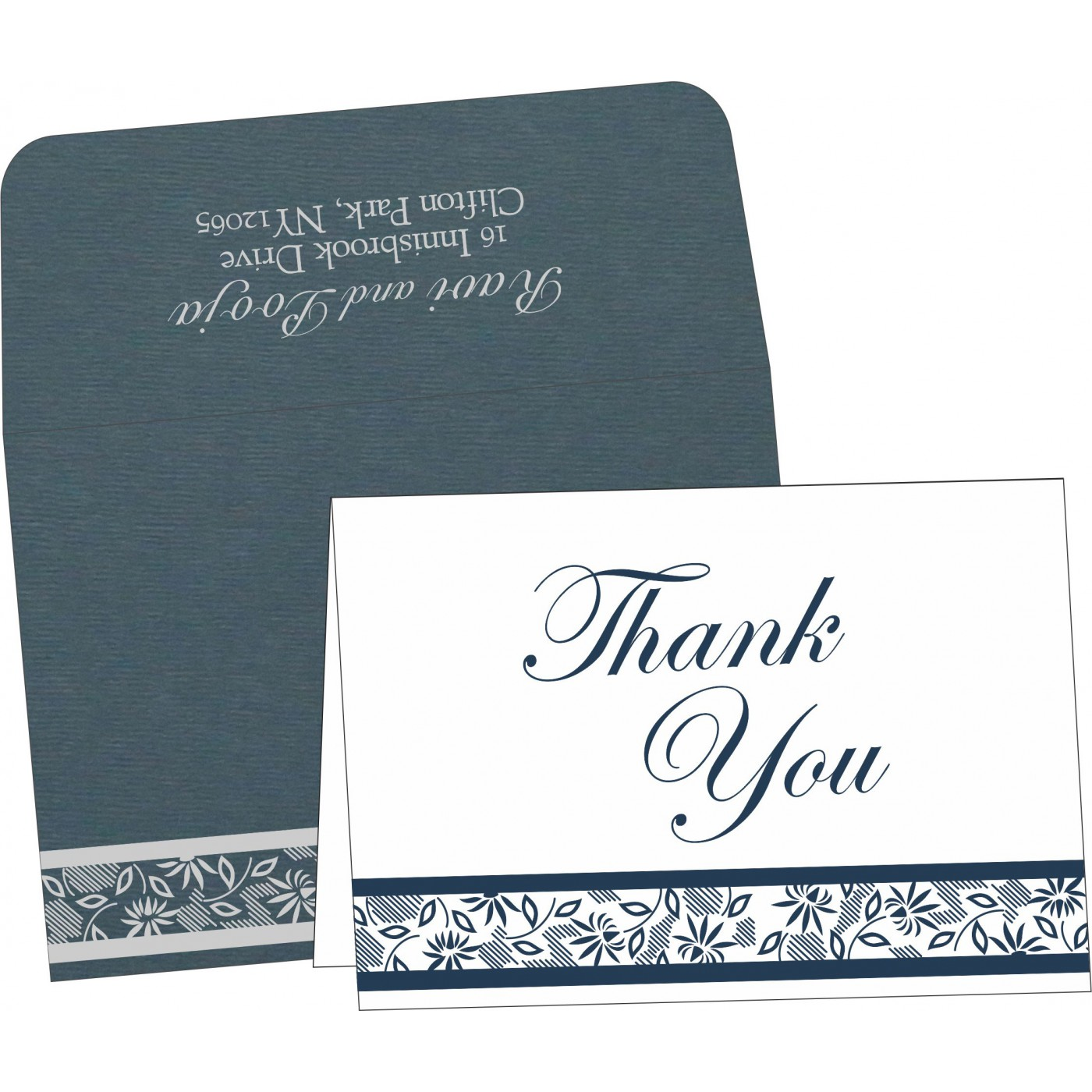 Thank You Cards : TYC-1433 - 123WeddingCards