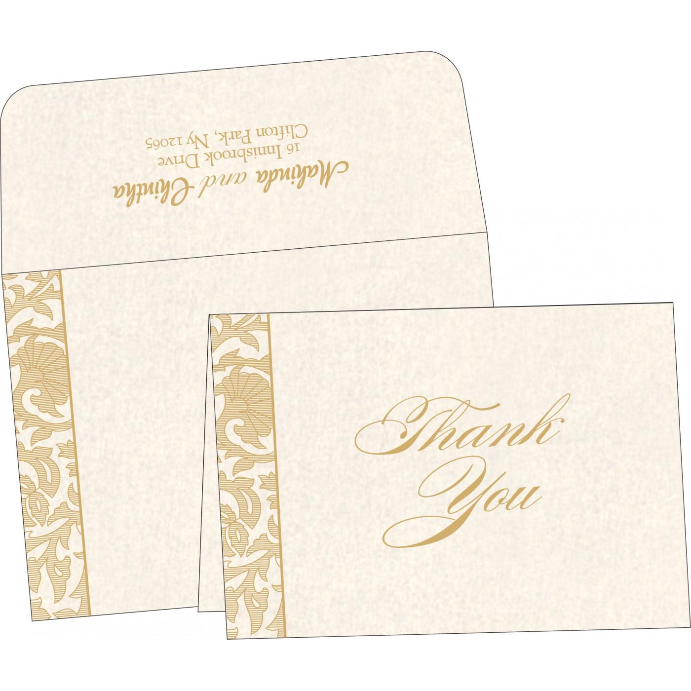 Thank You Cards : TYC-1434 - 123WeddingCards
