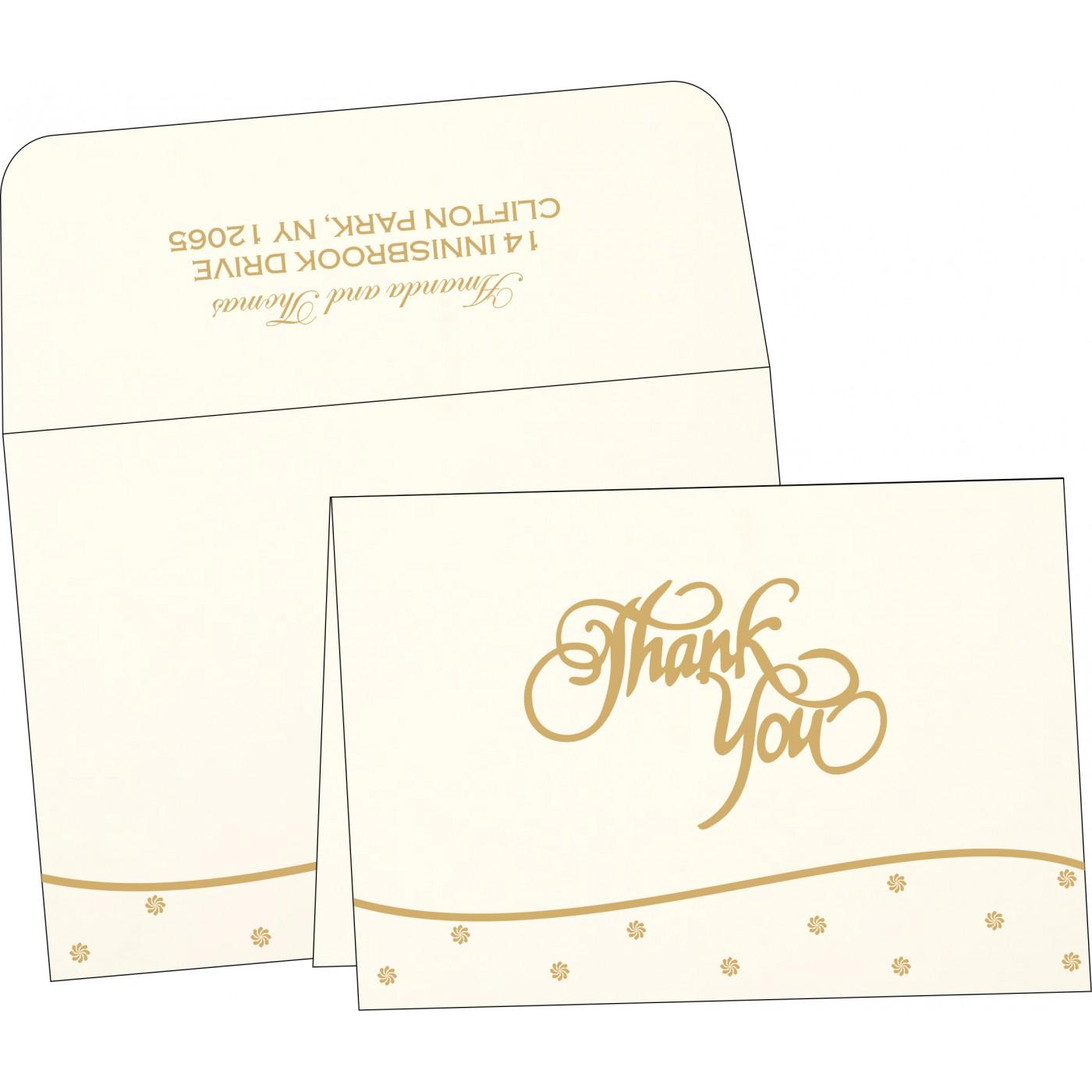 Thank You Cards : TYC-1435 - 123WeddingCards