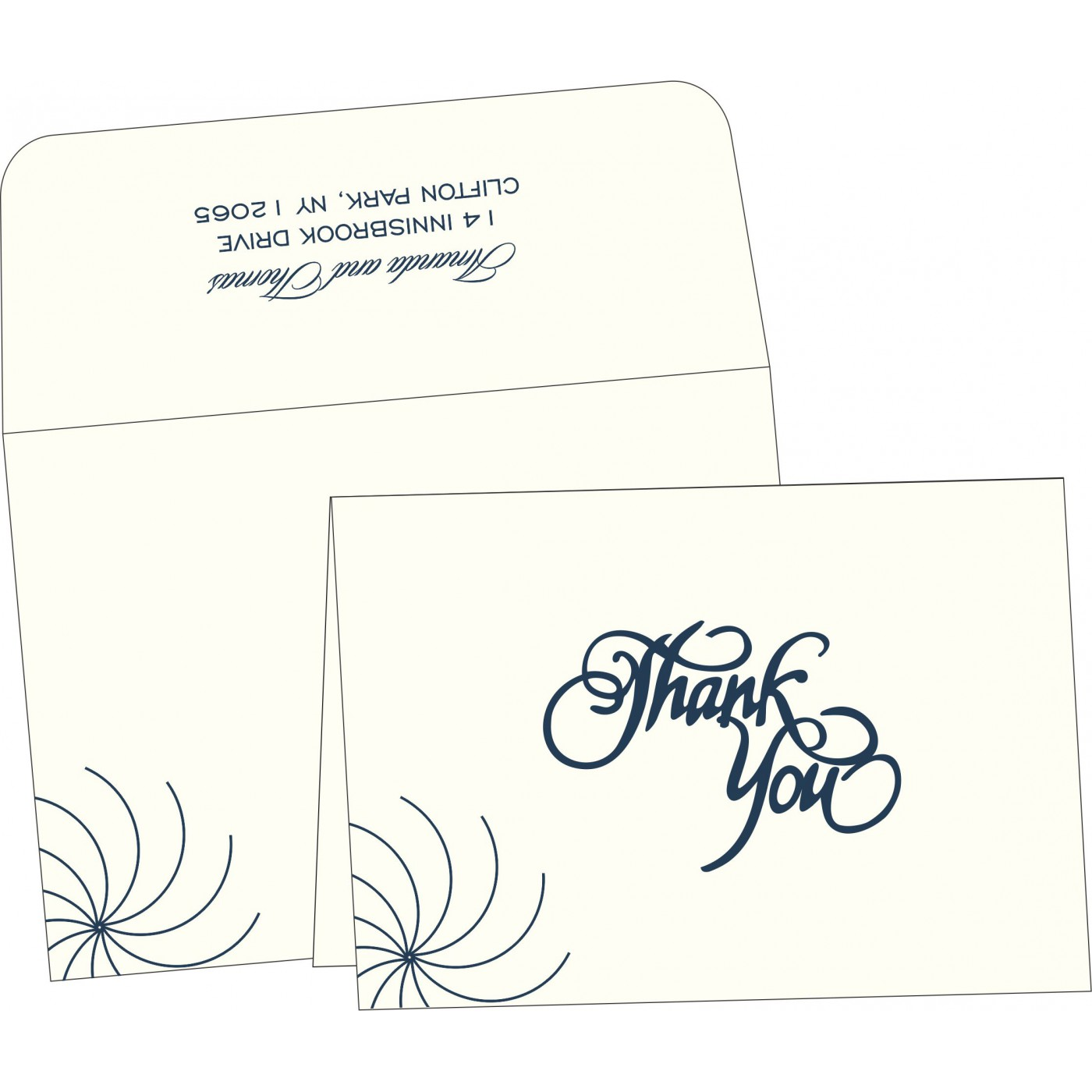 Thank You Cards : TYC-1436 - 123WeddingCards