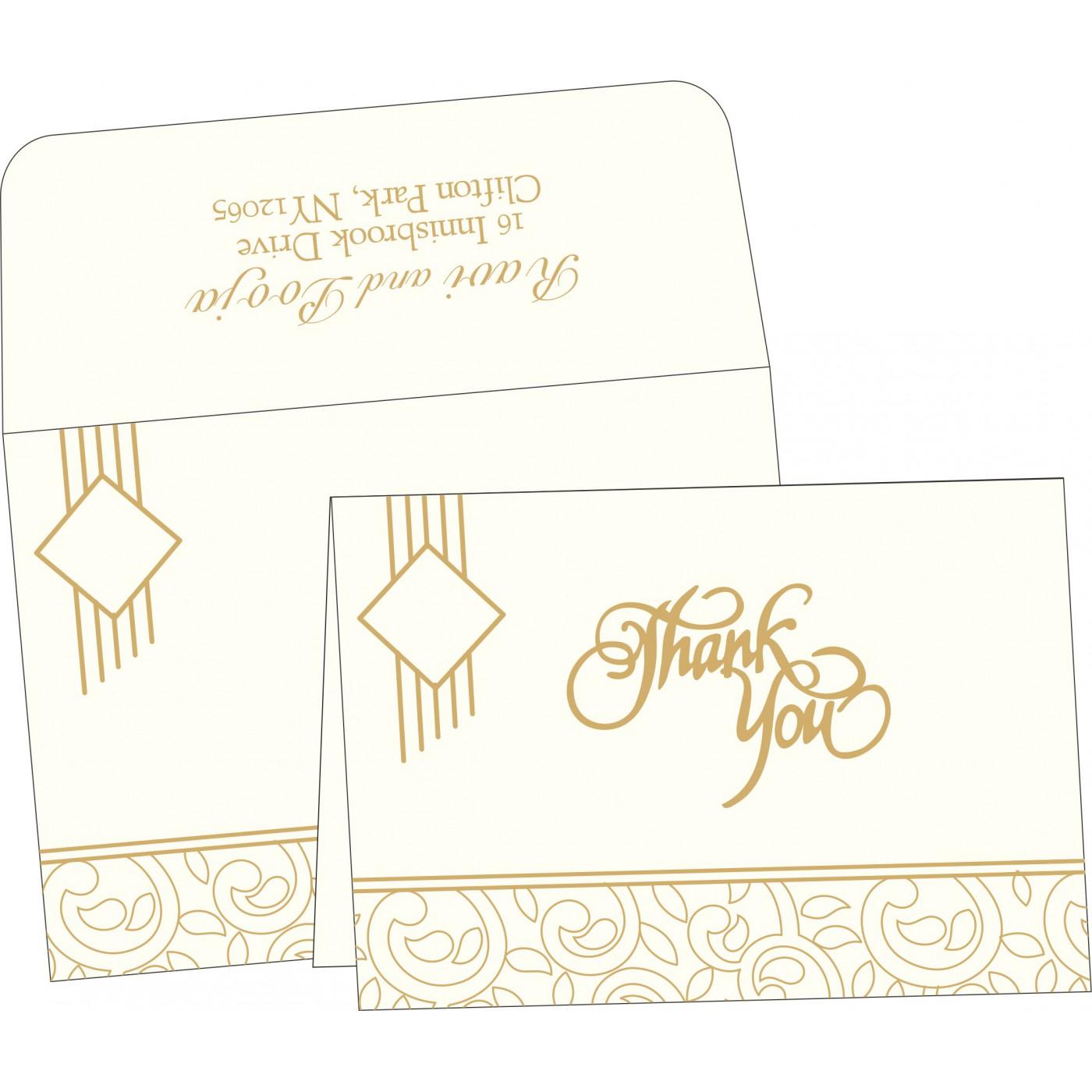 Thank You Cards : TYC-1438 - 123WeddingCards
