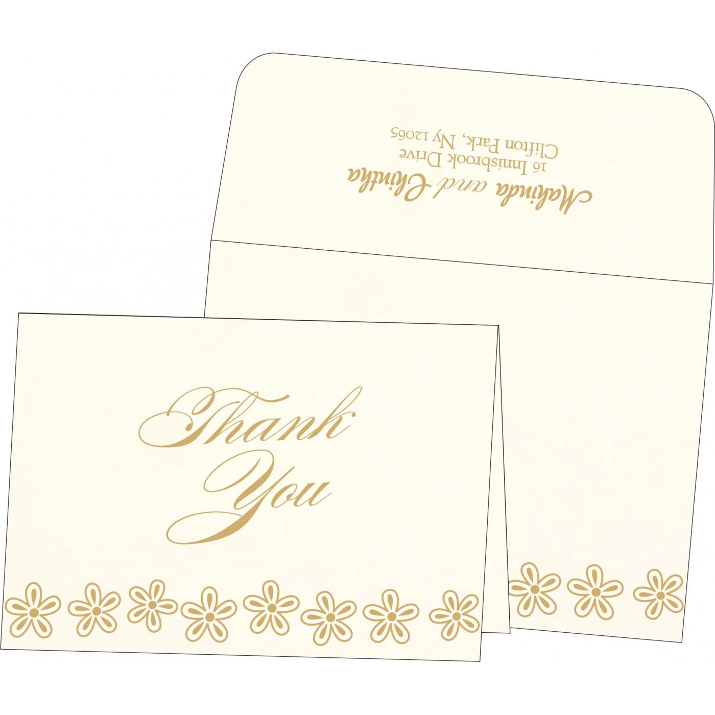 Thank You Cards : TYC-1439 - 123WeddingCards