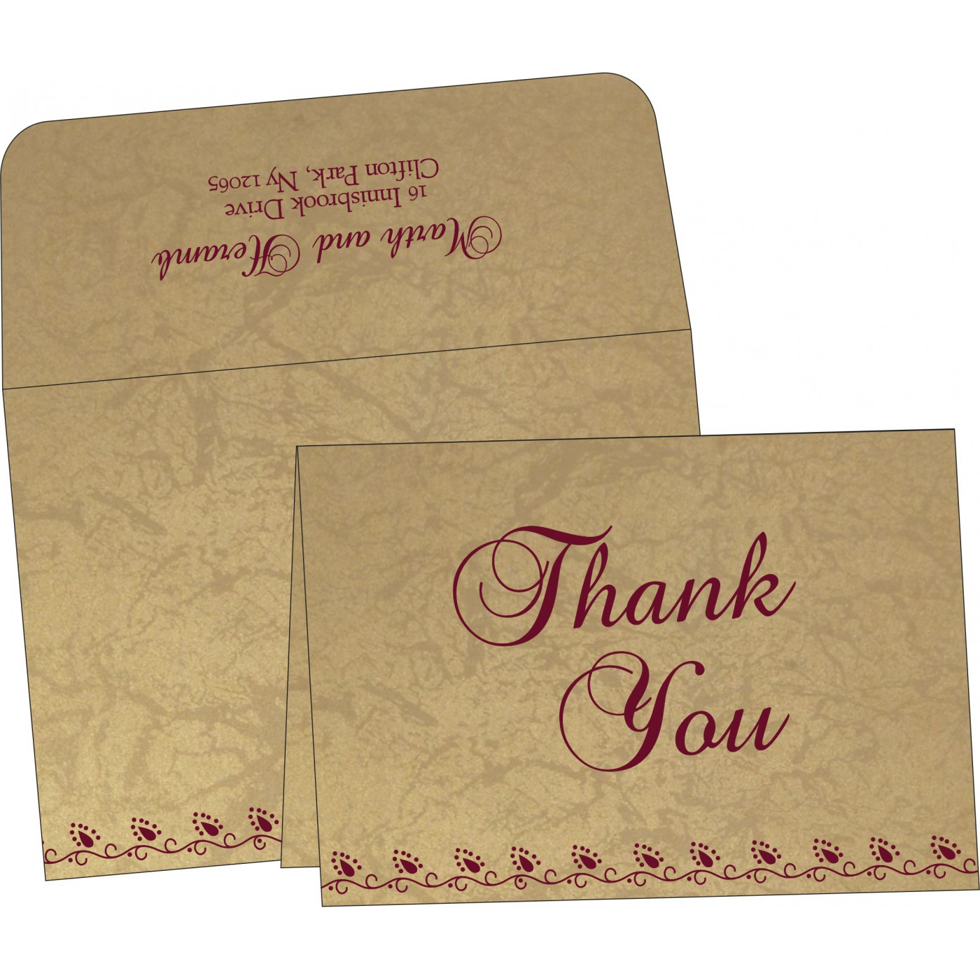 Thank You Cards : TYC-1440 - 123WeddingCards