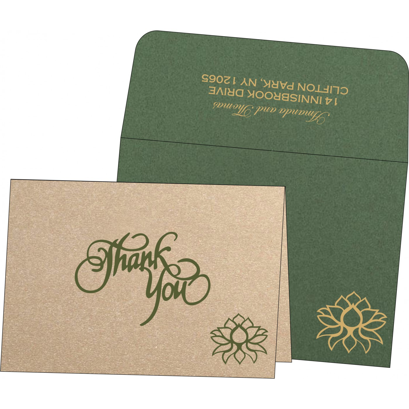 Thank You Cards : TYC-1449 - 123WeddingCards