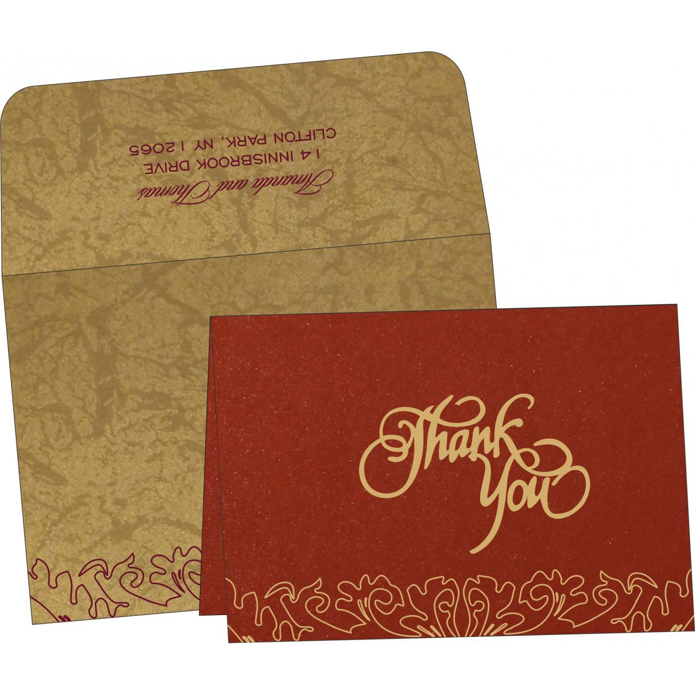 Thank You Cards : TYC-1463 - 123WeddingCards