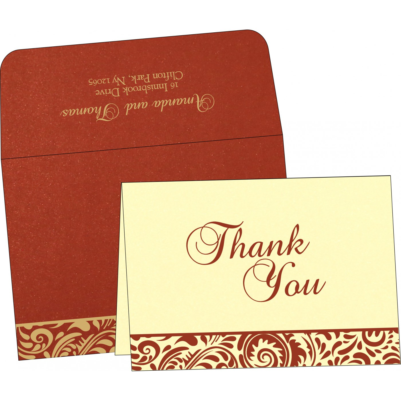 Thank You Cards : TYC-1471 - 123WeddingCards
