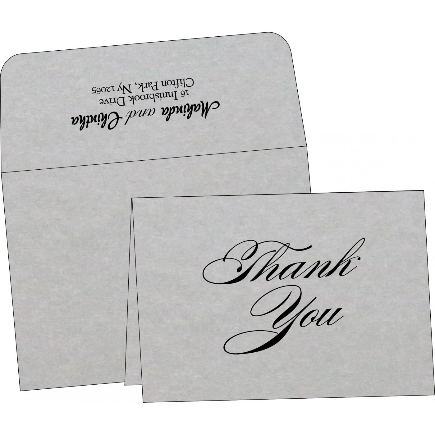 Thank You Cards : TYC-1498 - 123WeddingCards